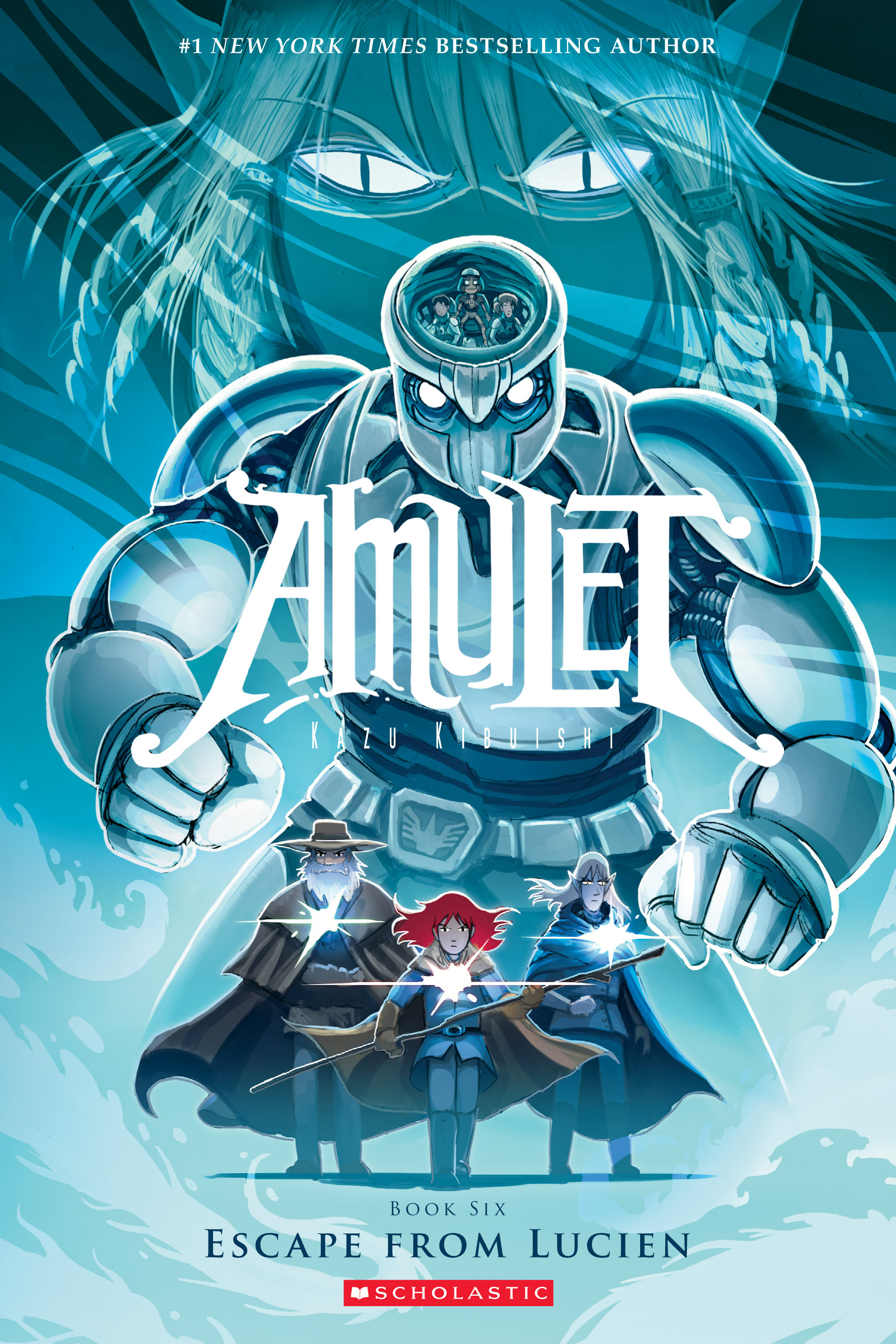 Read online Amulet comic -  Issue #6 - 1
