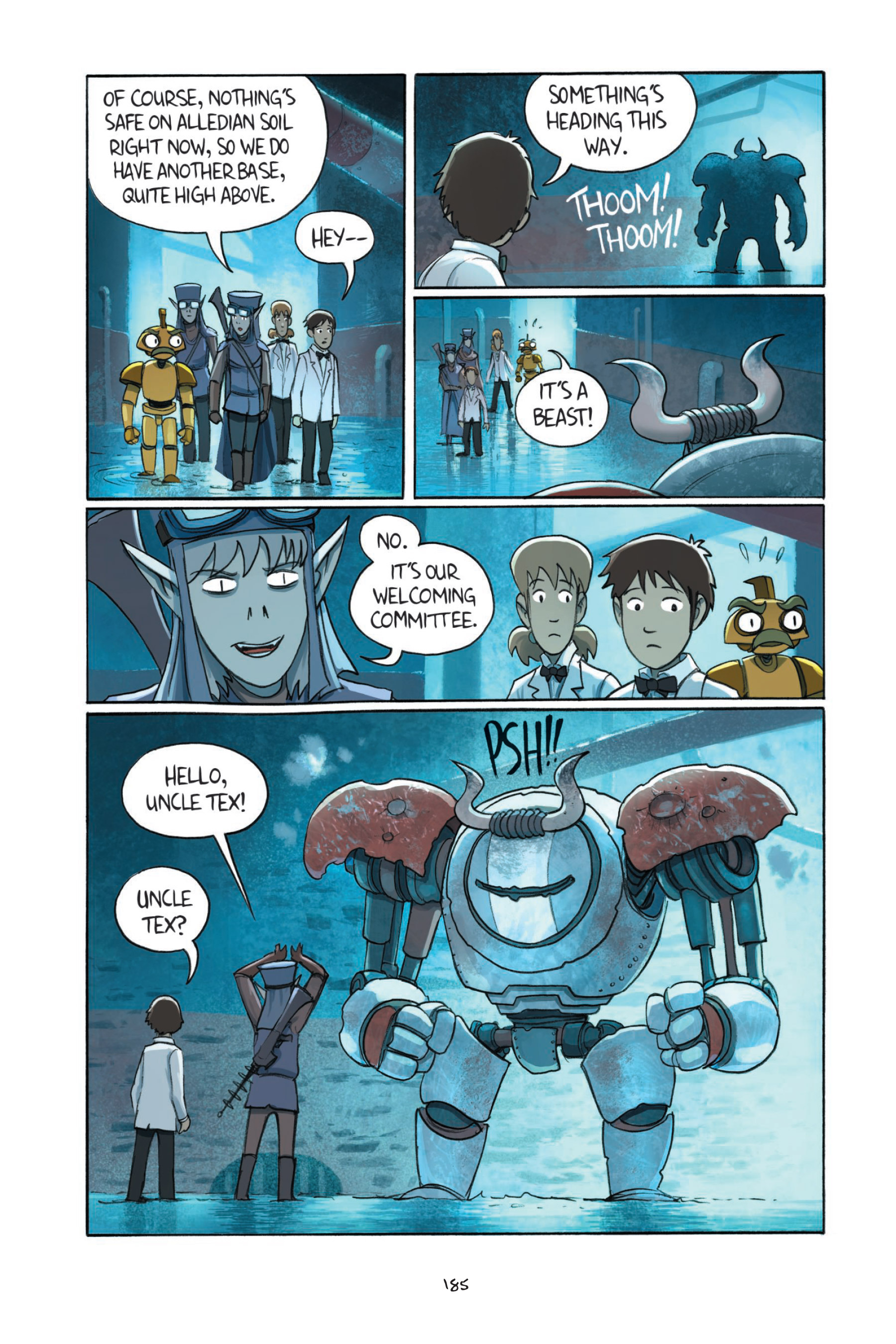 Read online Amulet comic -  Issue #7 - 184