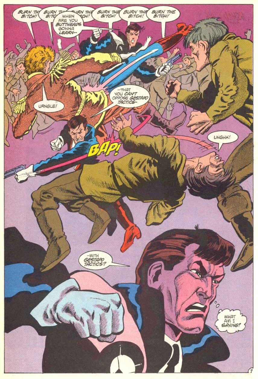 Read online American Flagg! comic -  Issue #14 - 8