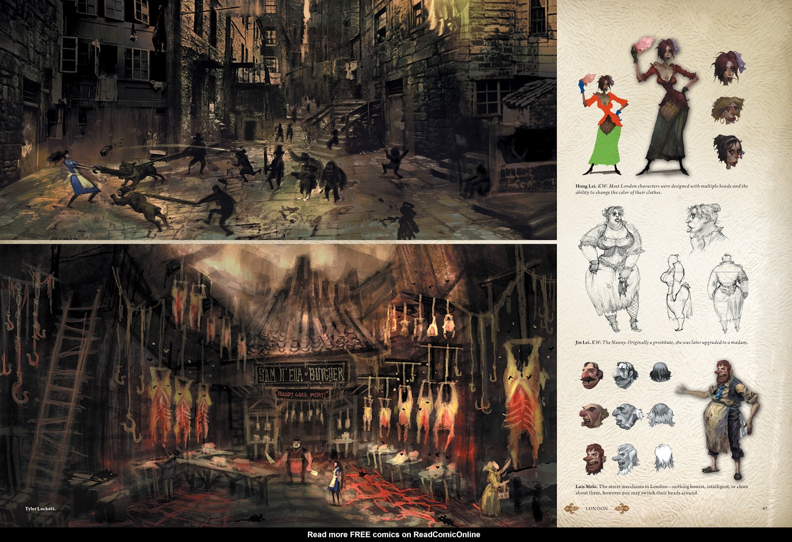 Read online The Art of Alice: Madness Returns comic -  Issue # TPB (Part 1) - 61