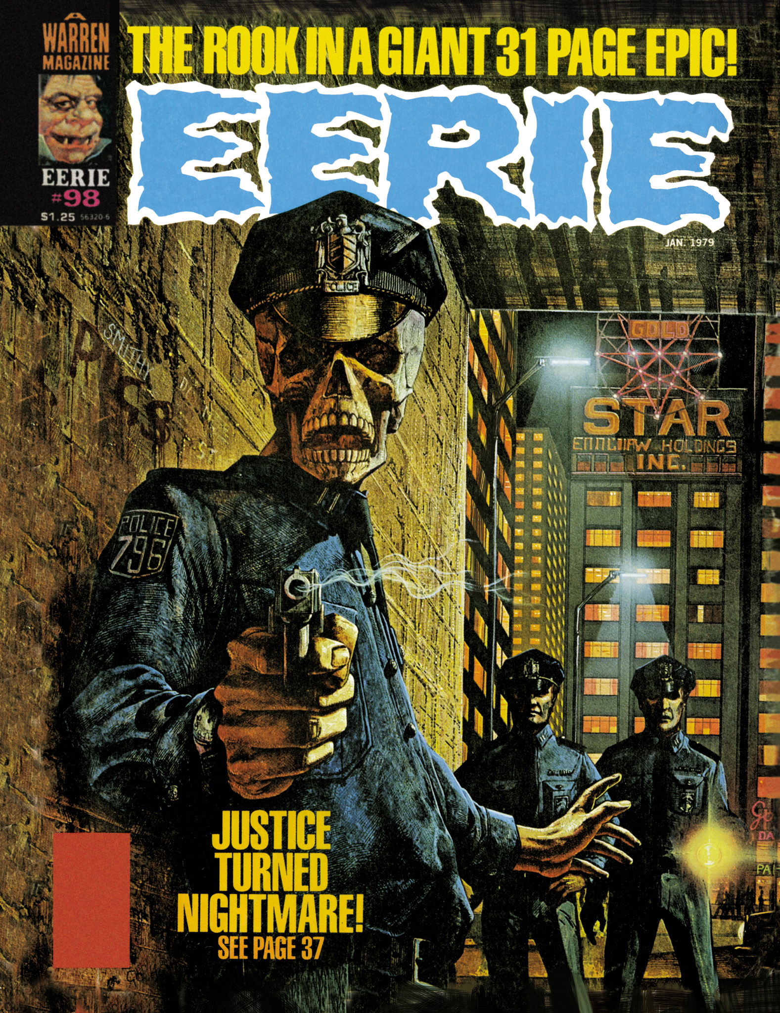 Read online Eerie Archives comic -  Issue # TPB 20 - 155