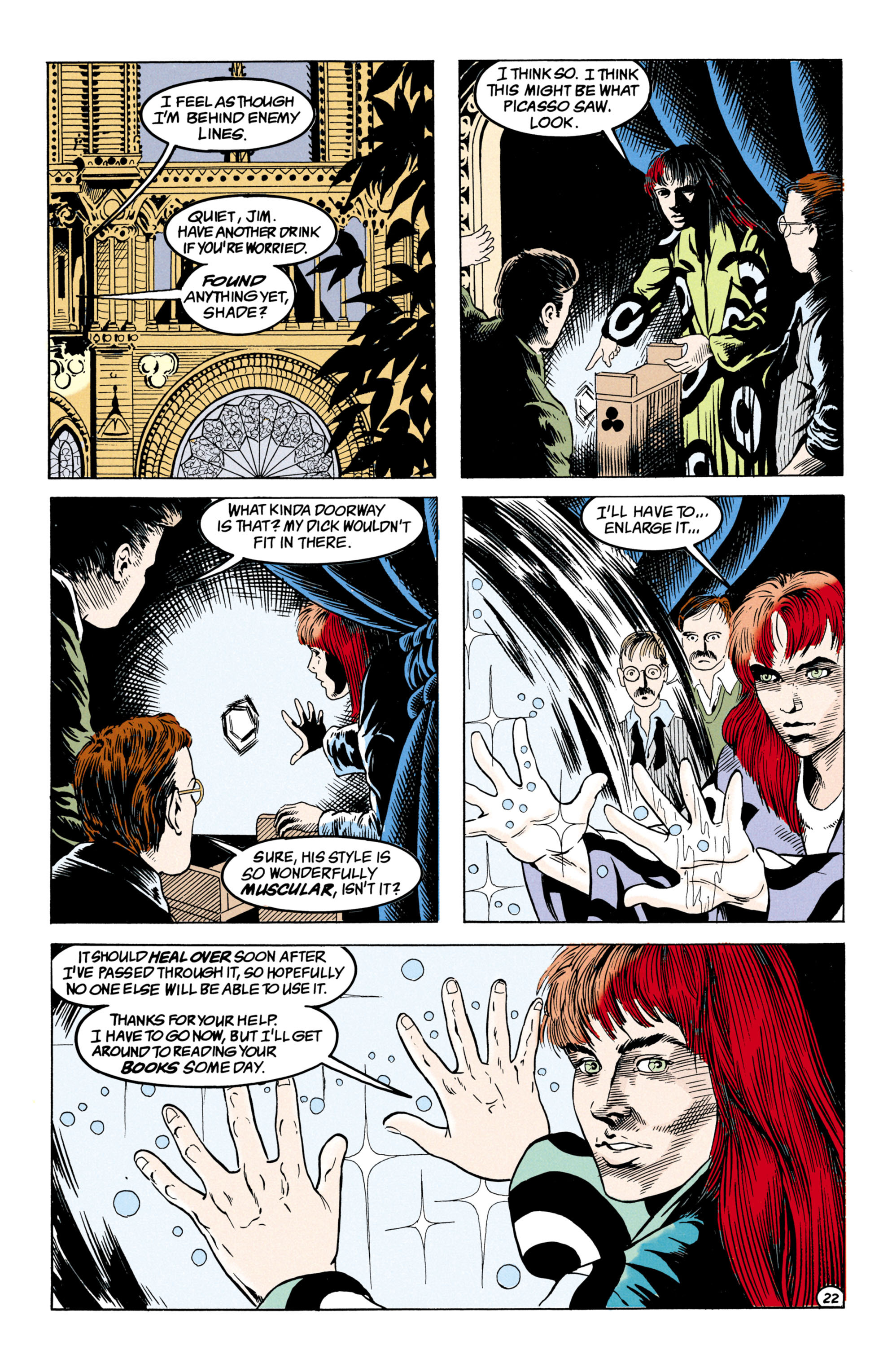Read online Shade, the Changing Man comic -  Issue #31 - 23