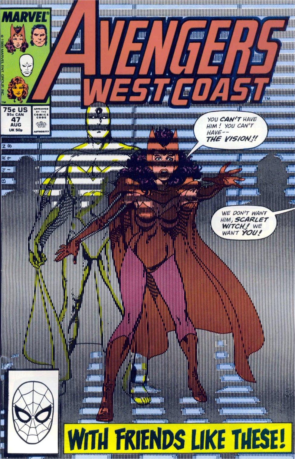 West Coast Avengers (1985) 47 Page 1