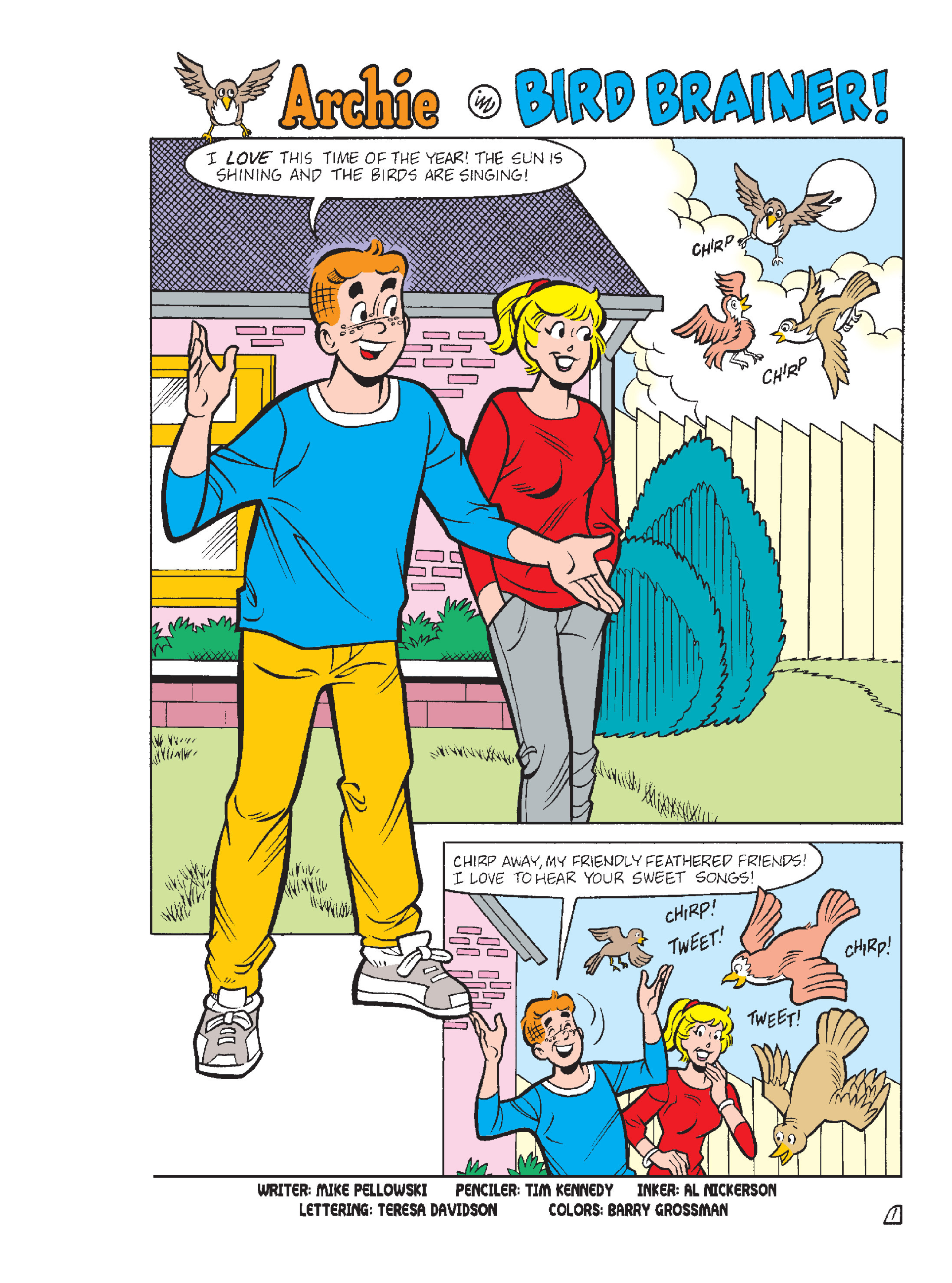 Read online Archie 1000 Page Comics Blowout! comic -  Issue # TPB (Part 1) - 239
