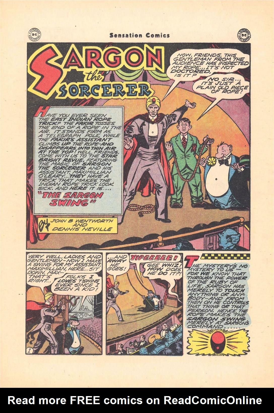 Read online Sensation (Mystery) Comics comic -  Issue #55 - 25