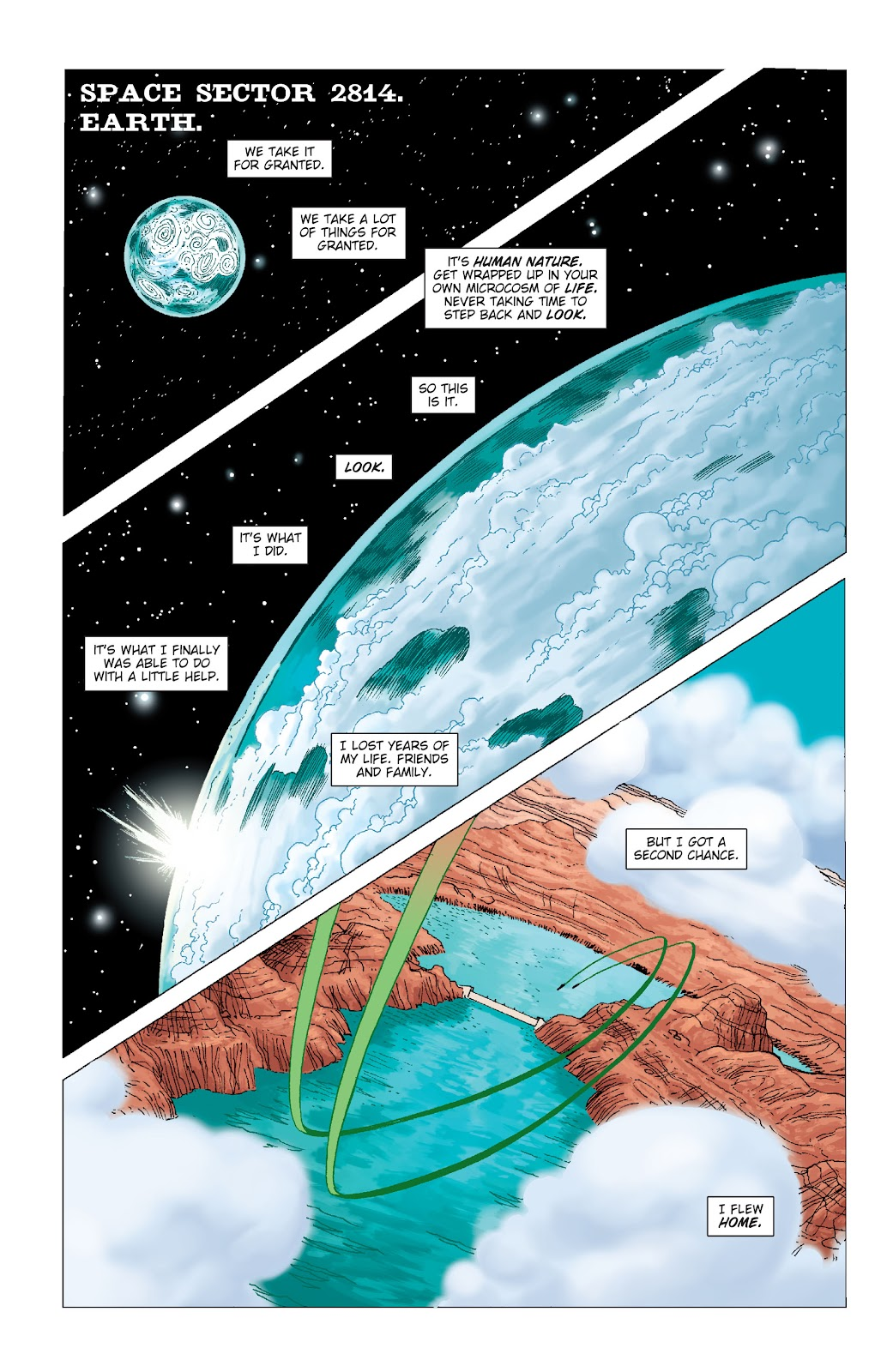 Read online Green Lantern by Geoff Johns comic -  Issue # TPB 1 (Part 2) - 56
