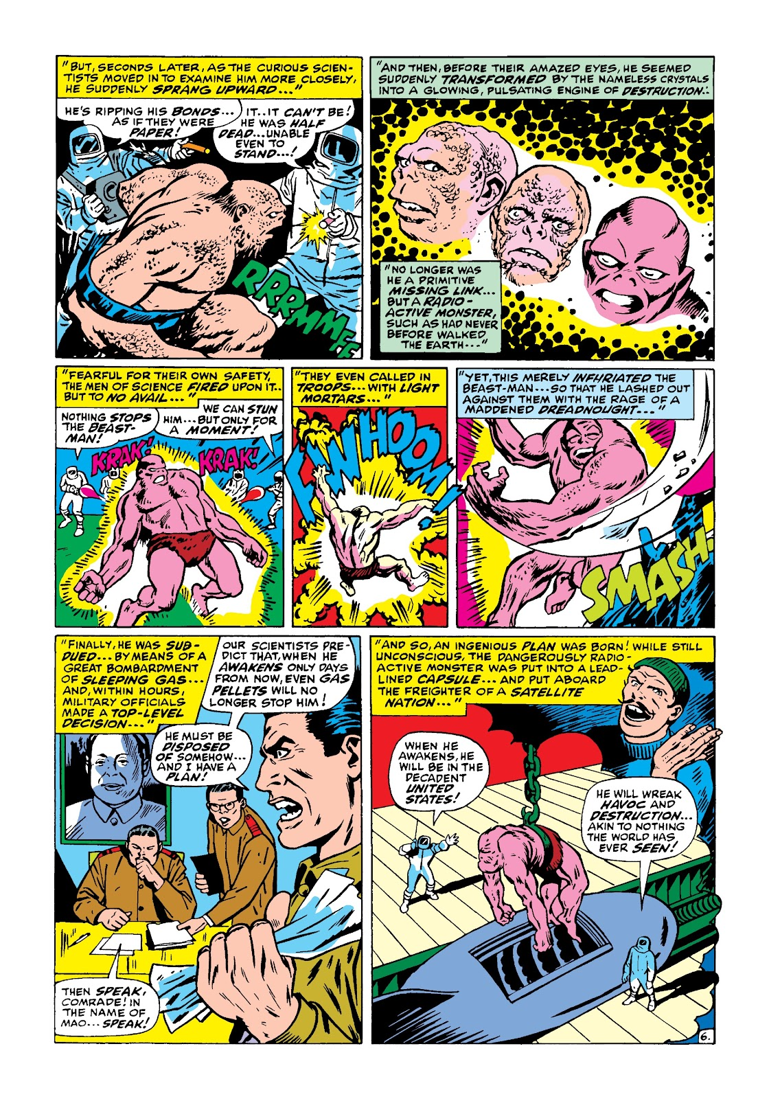 Read online Marvel Masterworks: The Incredible Hulk comic -  Issue # TPB 4 (Part 1) - 55