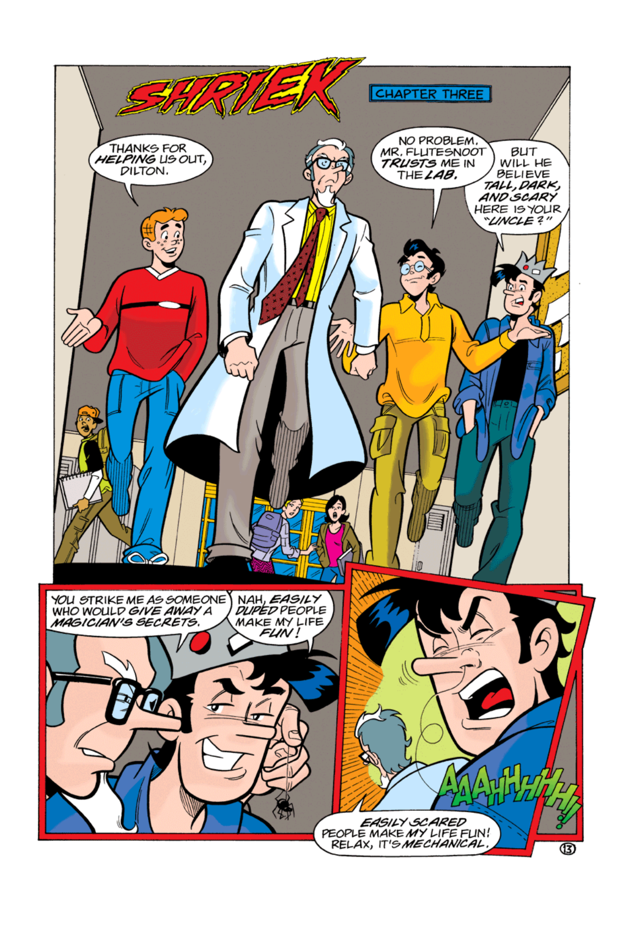 Read online Archie's Weird Mysteries comic -  Issue #2 - 13