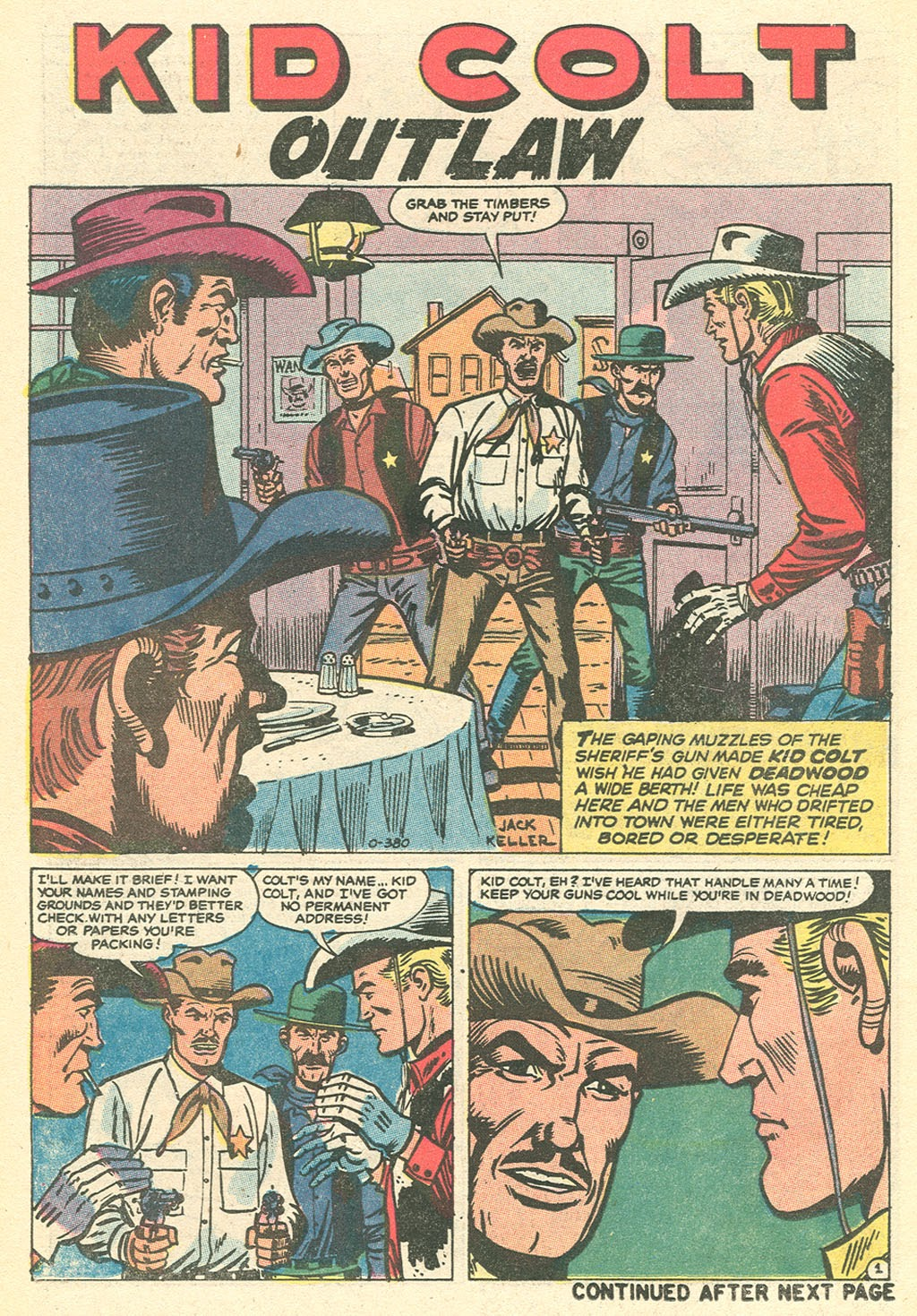 Kid Colt Outlaw issue 151 - Page 14