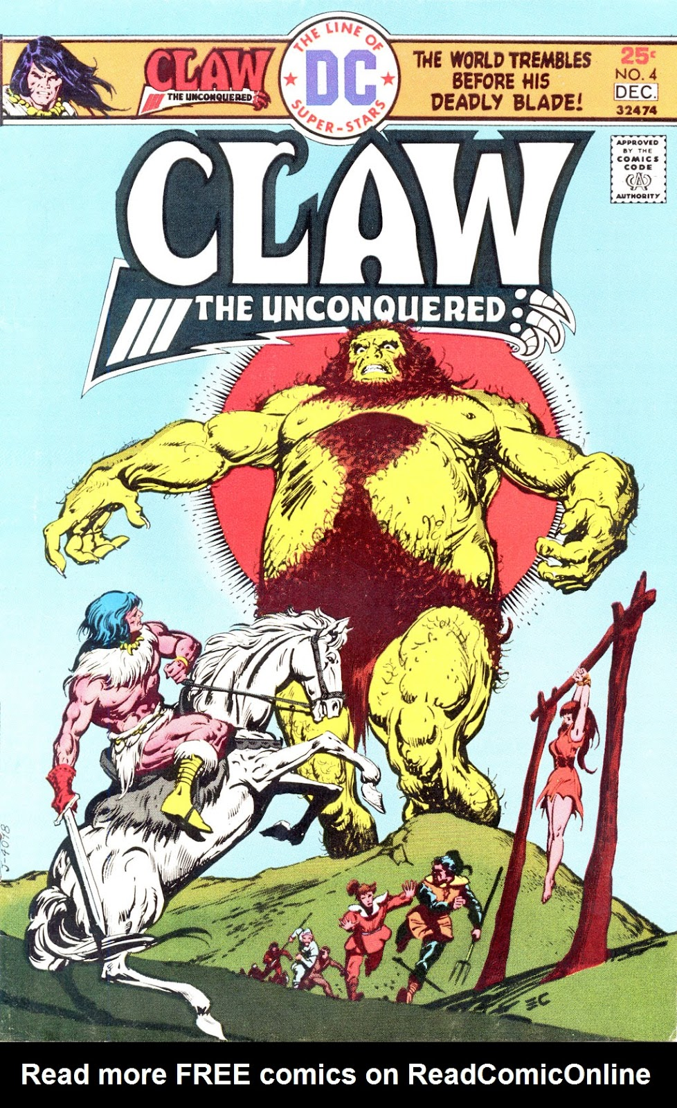 Claw  The Unconquered (1975) issue 4 - Page 1