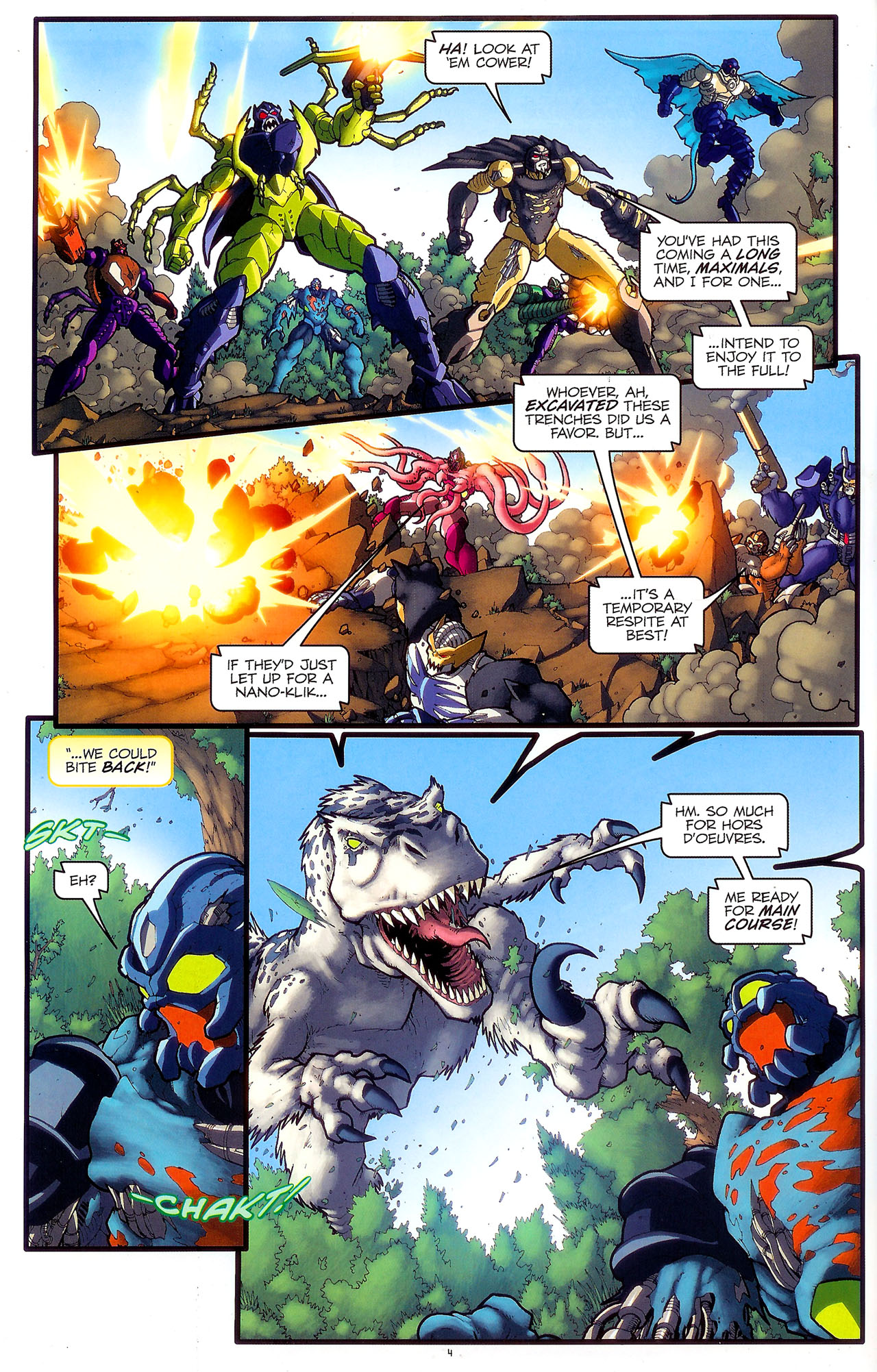 Read online Transformers: Beast Wars: The Ascending comic -  Issue #2 - 7