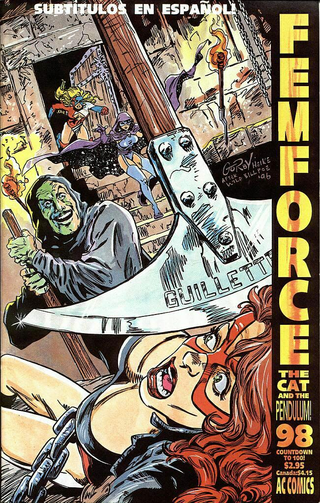 Femforce Issue #98 #98 - English 1