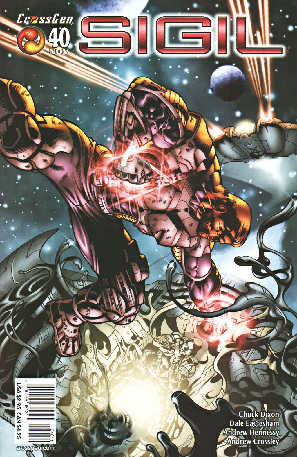 Read online Sigil (2000) comic -  Issue #40 - 1