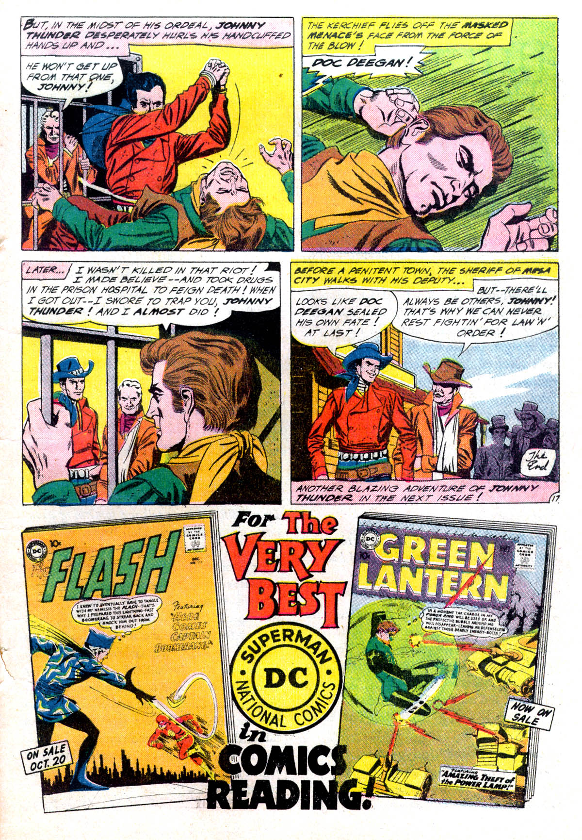 Read online All-Star Western (1951) comic -  Issue #116 - 21
