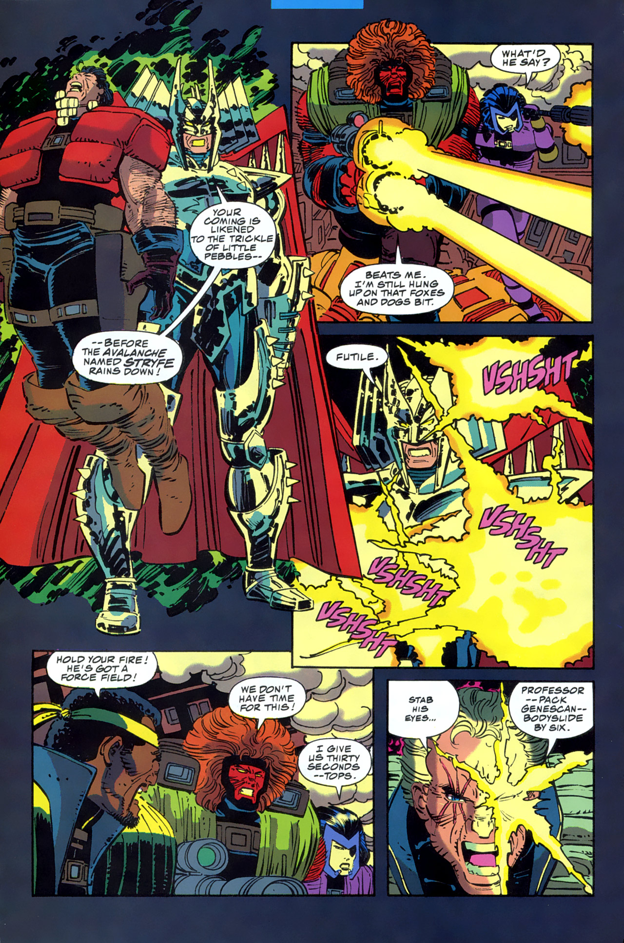 Read online Cable - Blood and Metal comic -  Issue #2 - 34