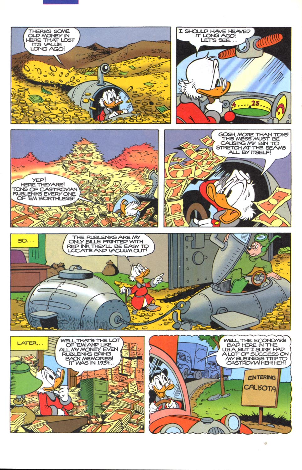 Read online Uncle Scrooge (1953) comic -  Issue #291 - 21