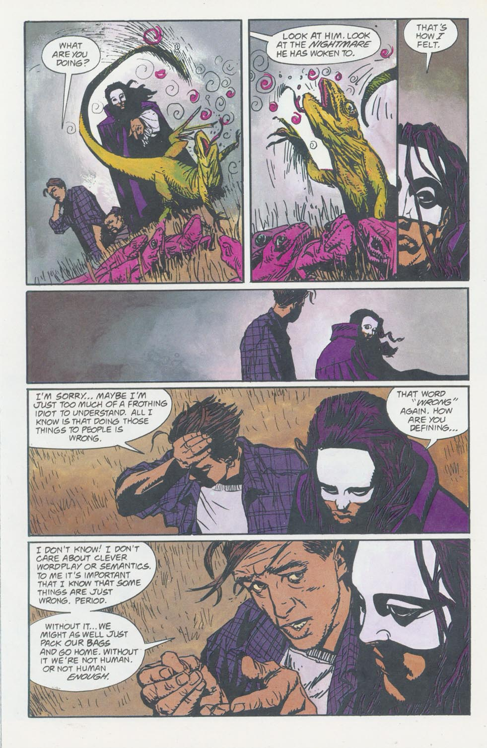 Read online Enigma comic -  Issue #8 - 19