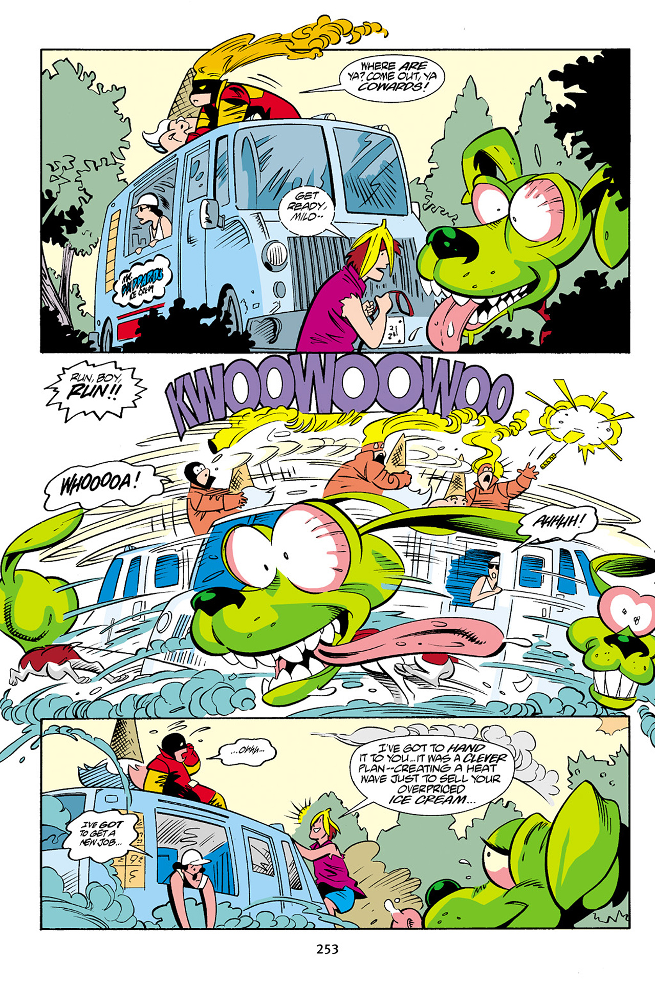 Read online Adventures Of The Mask Omnibus comic -  Issue #Adventures Of The Mask Omnibus Full - 252
