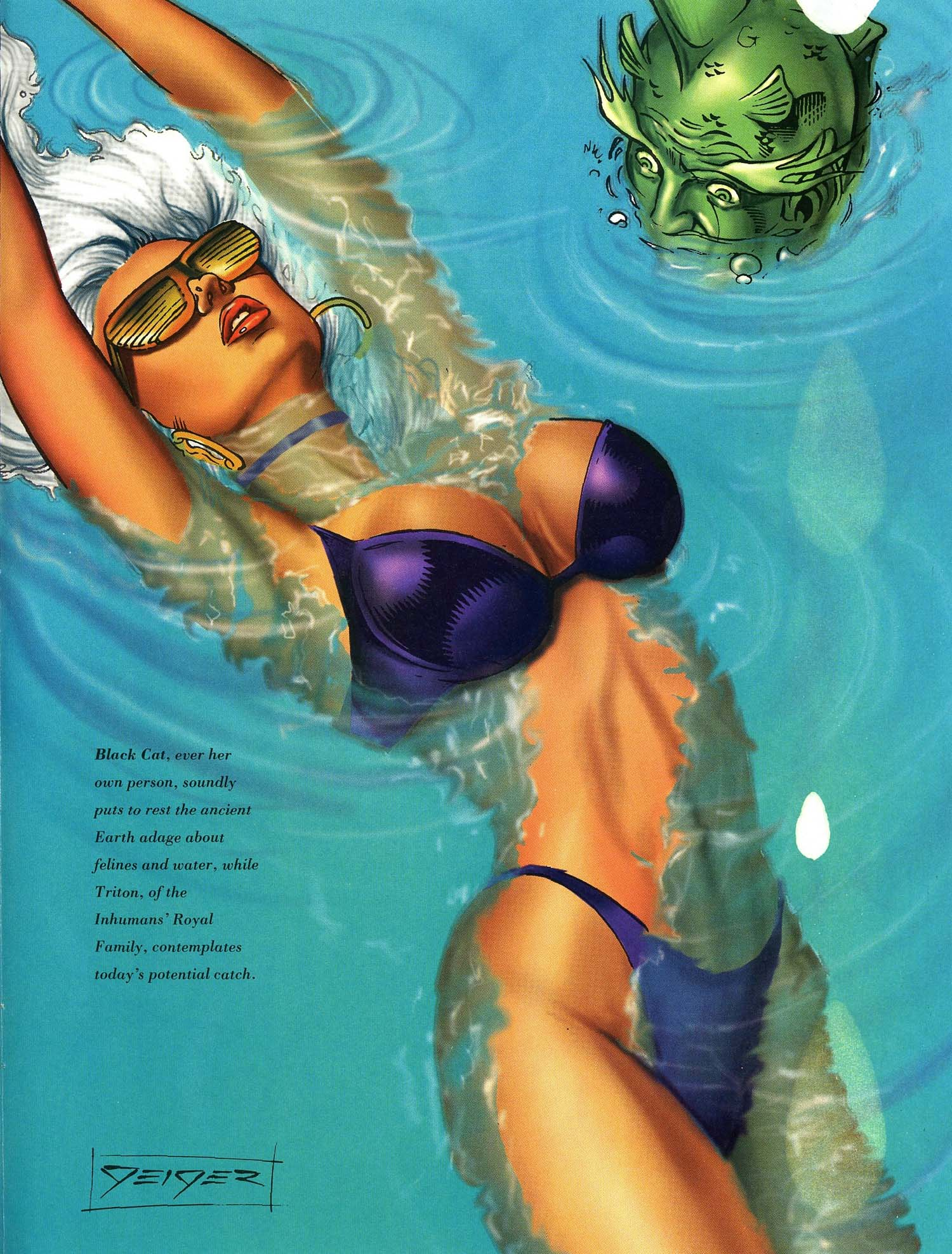 Read online Marvel Swimsuit Special comic -  Issue #3 - 38