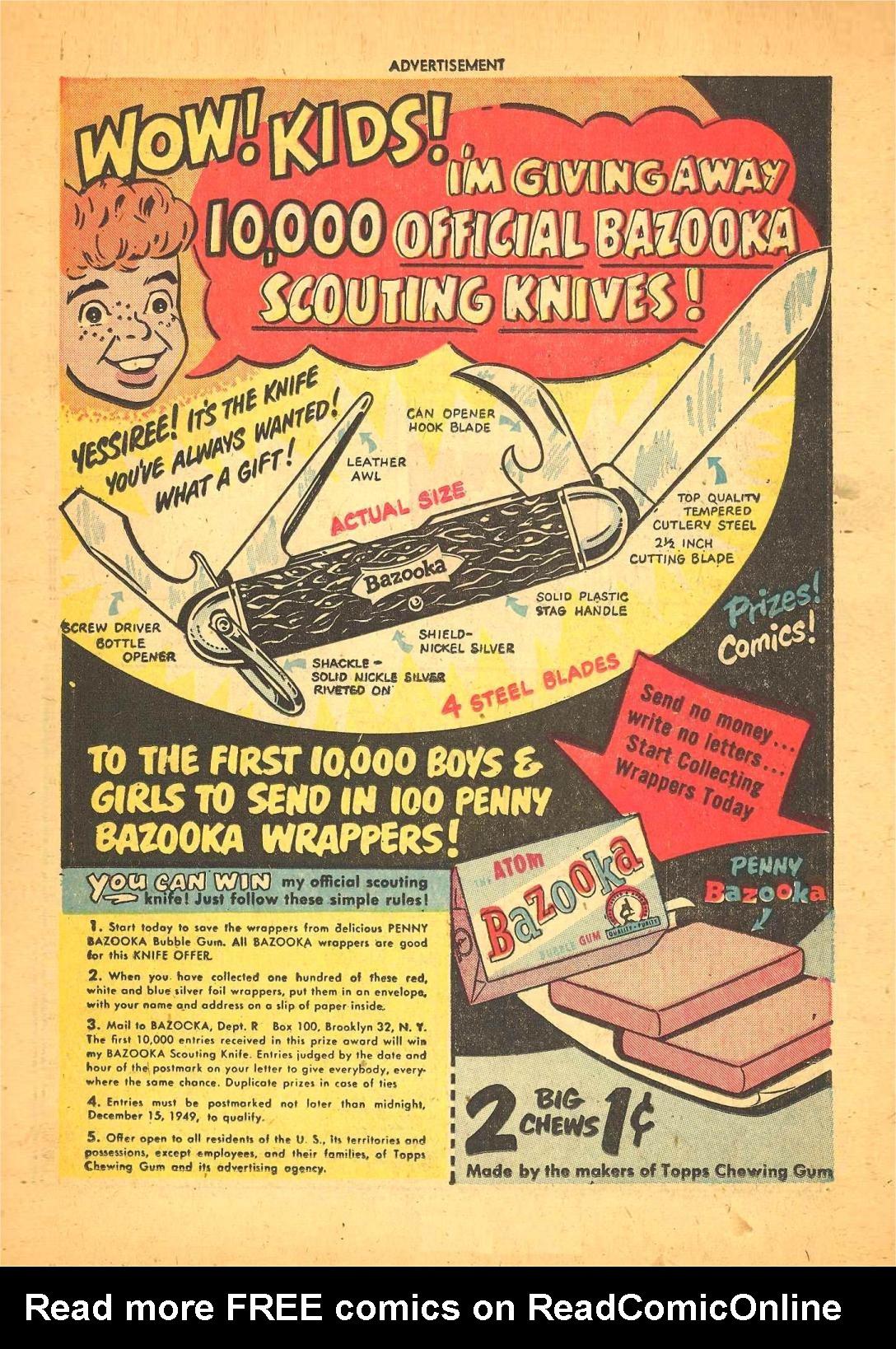 Read online Adventure Comics (1938) comic -  Issue #148 - 21