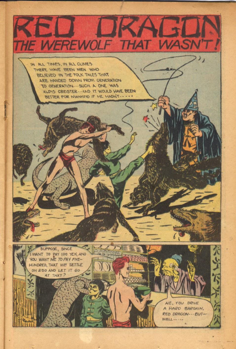 Read online Super-Magician Comics comic -  Issue #54 - 28