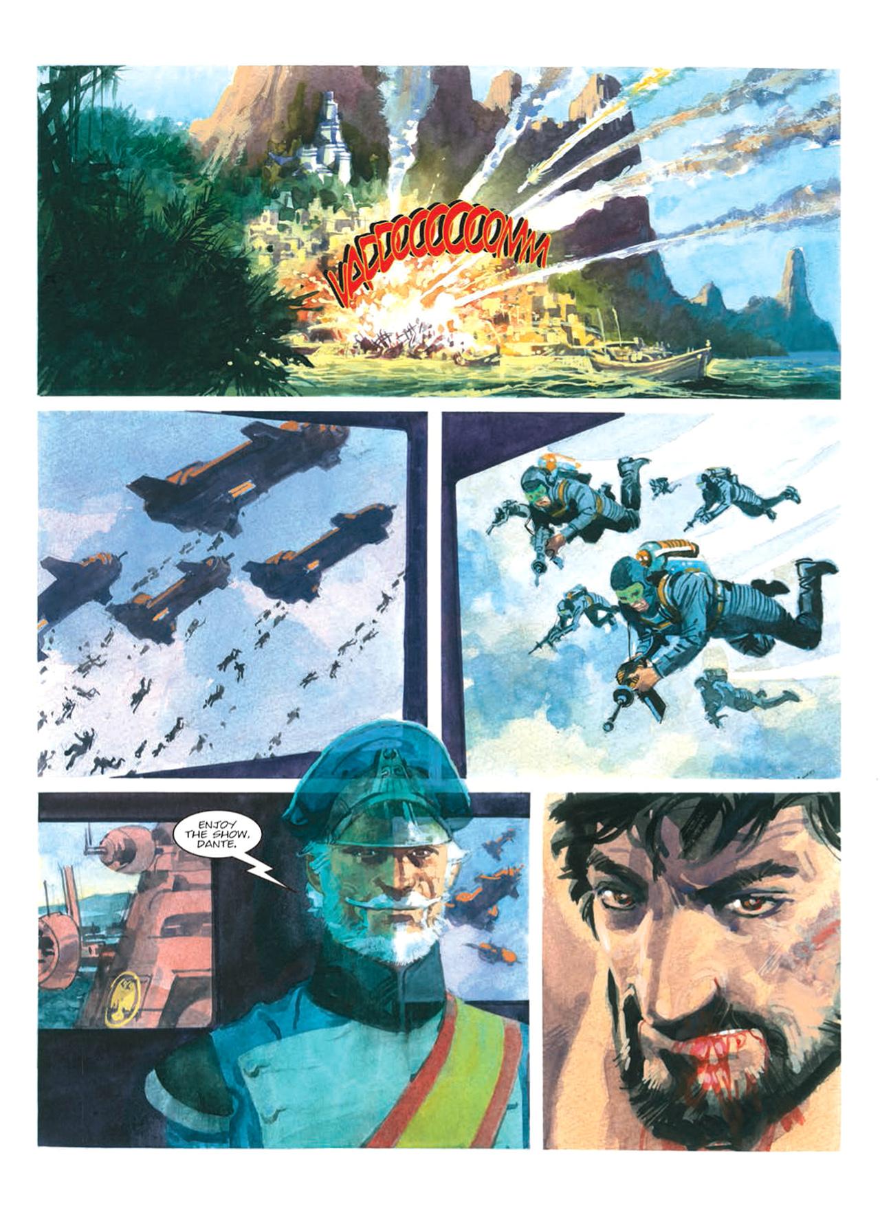 Read online Nikolai Dante comic -  Issue # TPB 9 - 92