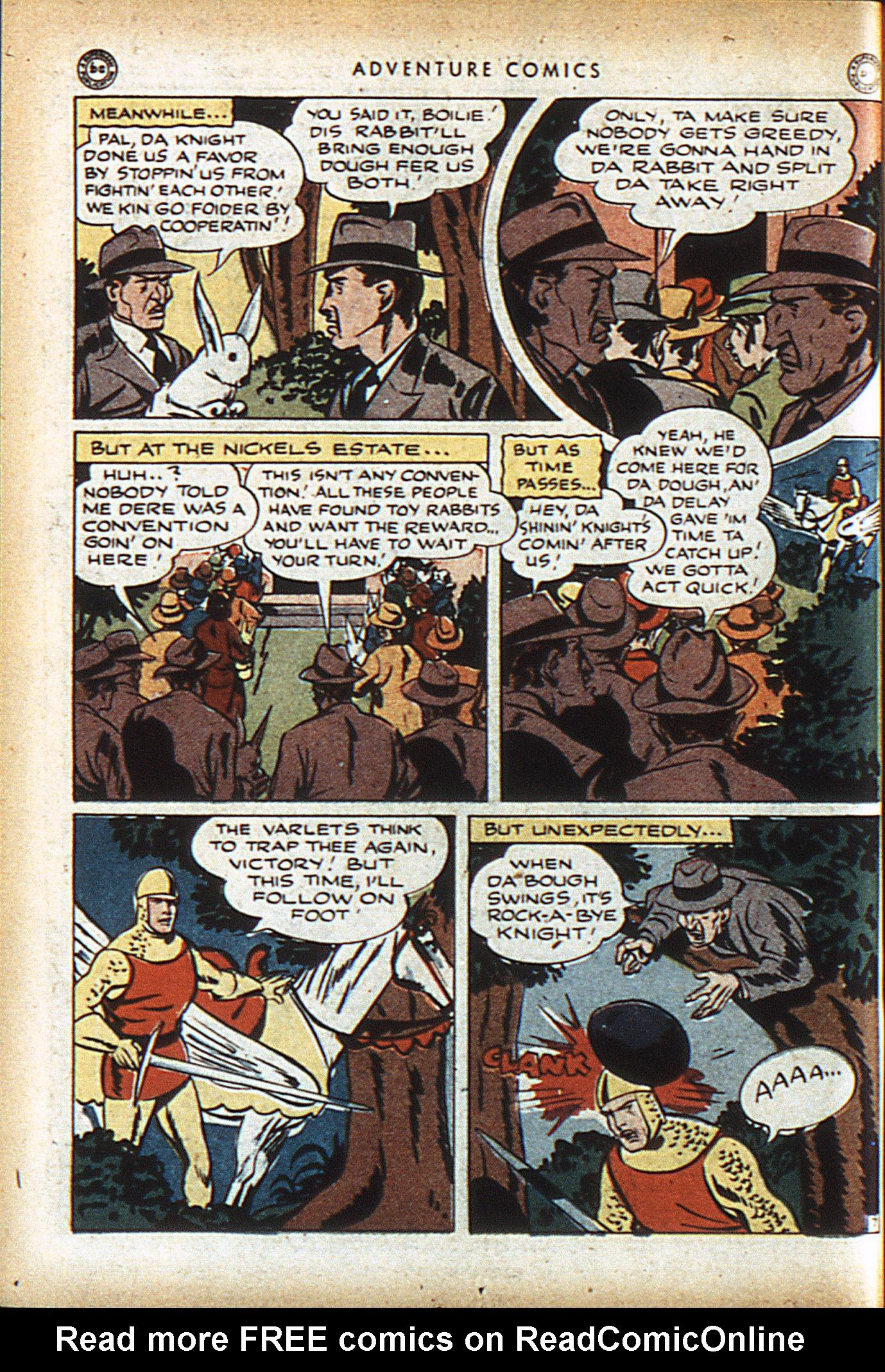 Read online Adventure Comics (1938) comic -  Issue #96 - 21