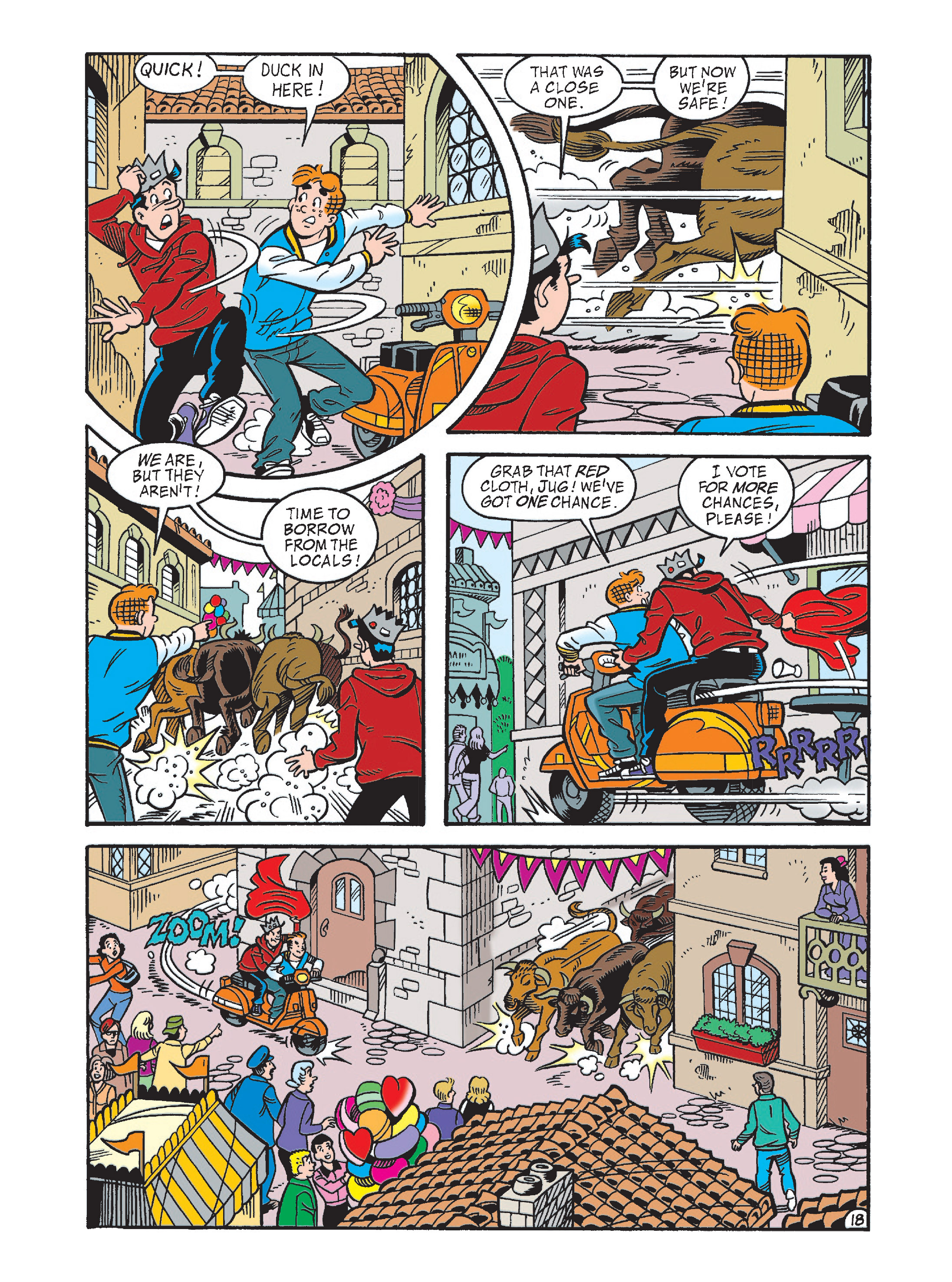 Read online Archie's Funhouse Double Digest comic -  Issue #2 - 53