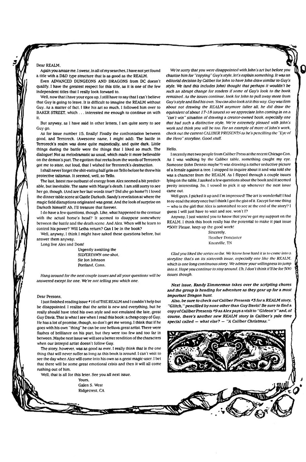 The Realm (1986) issue 17 - Page 32