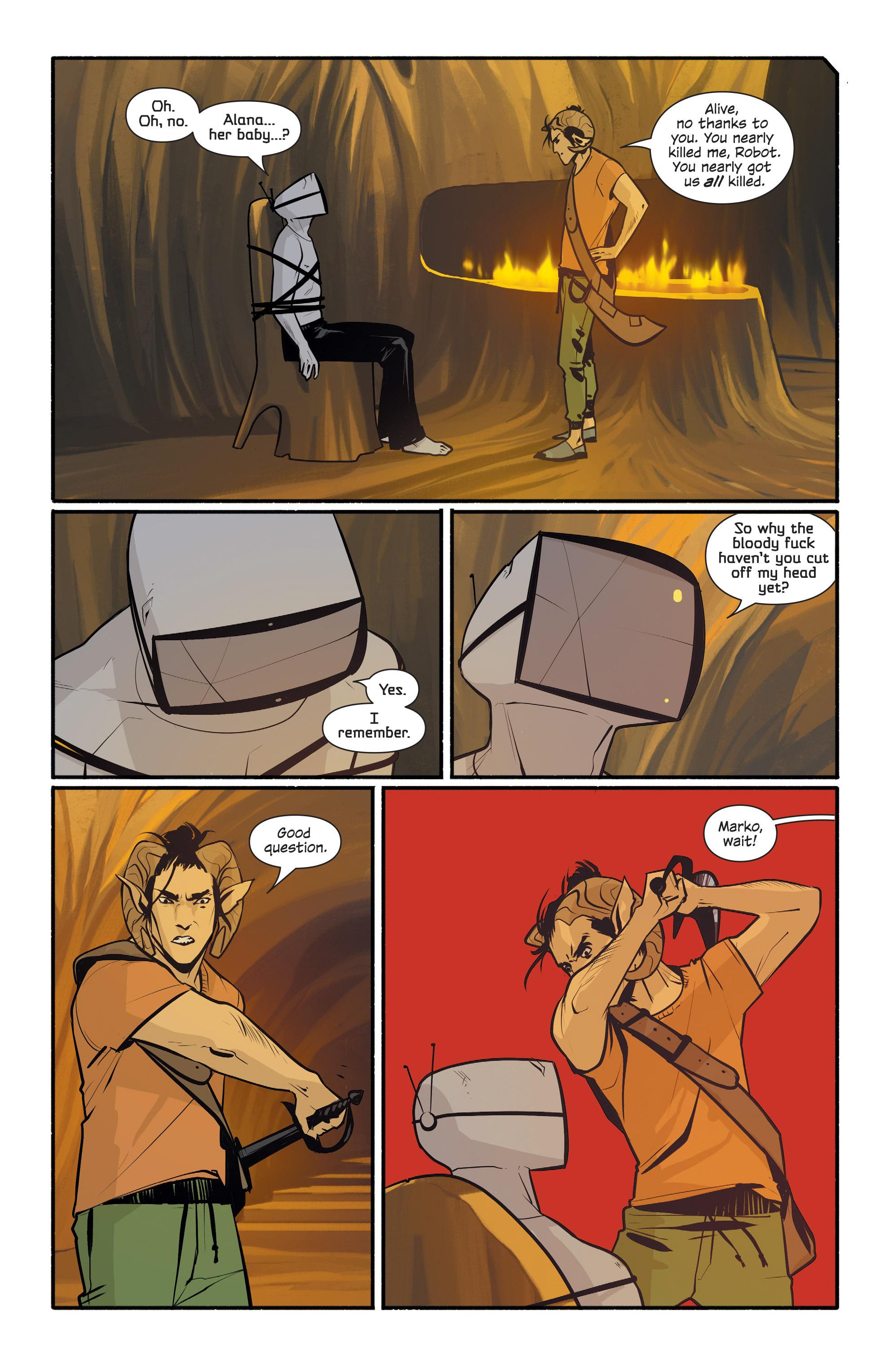 Read online Saga comic -  Issue #42 - 7