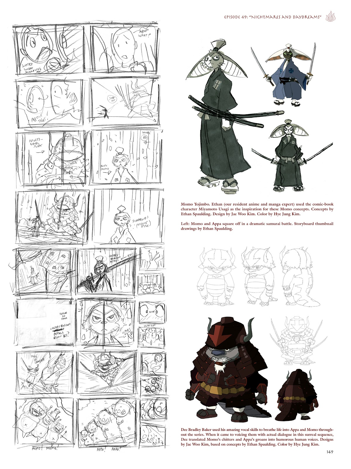 Read online Avatar: The Last Airbender - The Art of the Animated Series comic -  Issue # TPB (Part 2) - 46