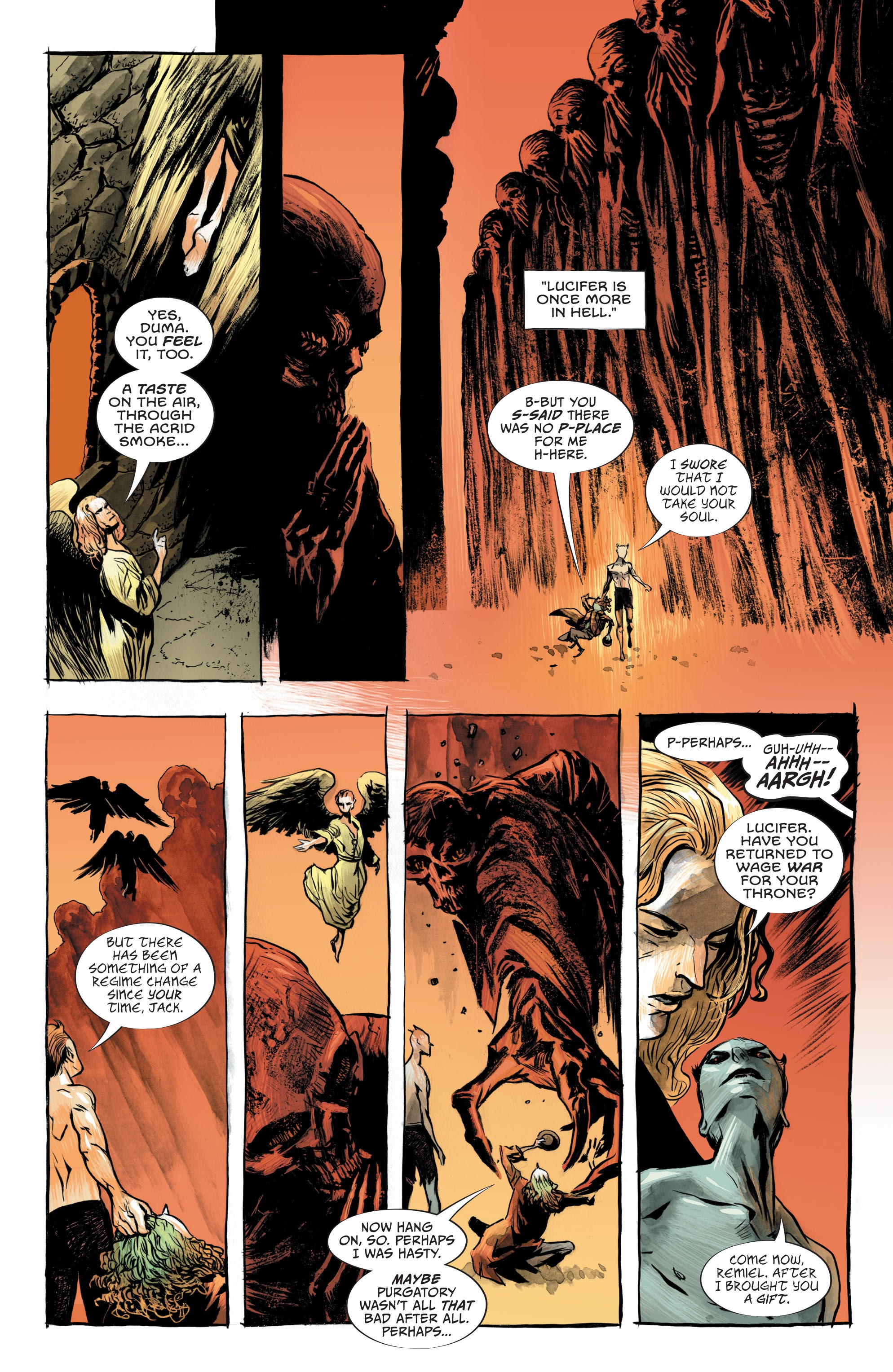 Read online Lucifer (2018) comic -  Issue #7 - 9