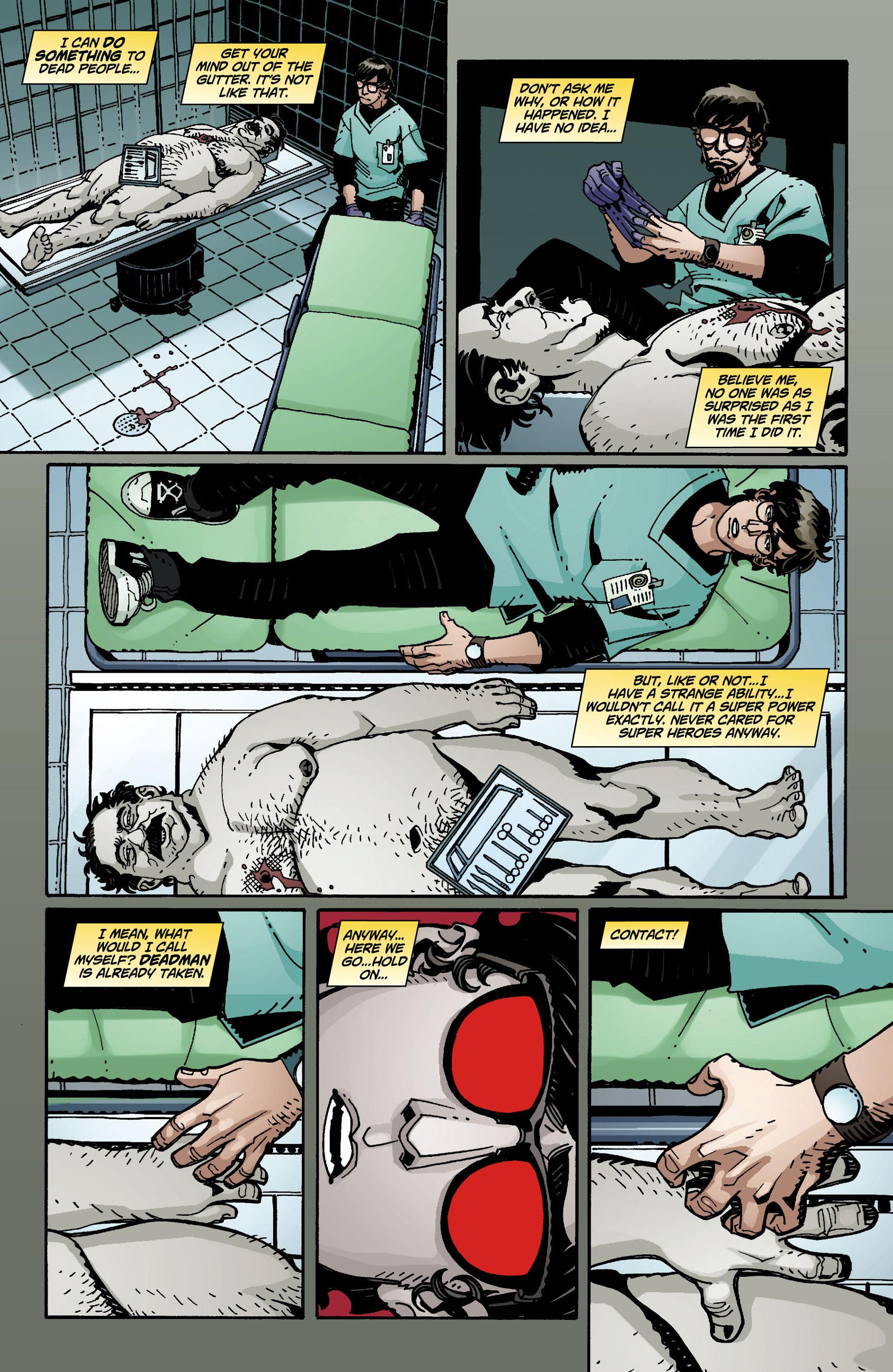 Read online National Comics: Eternity comic -  Issue # Full - 11
