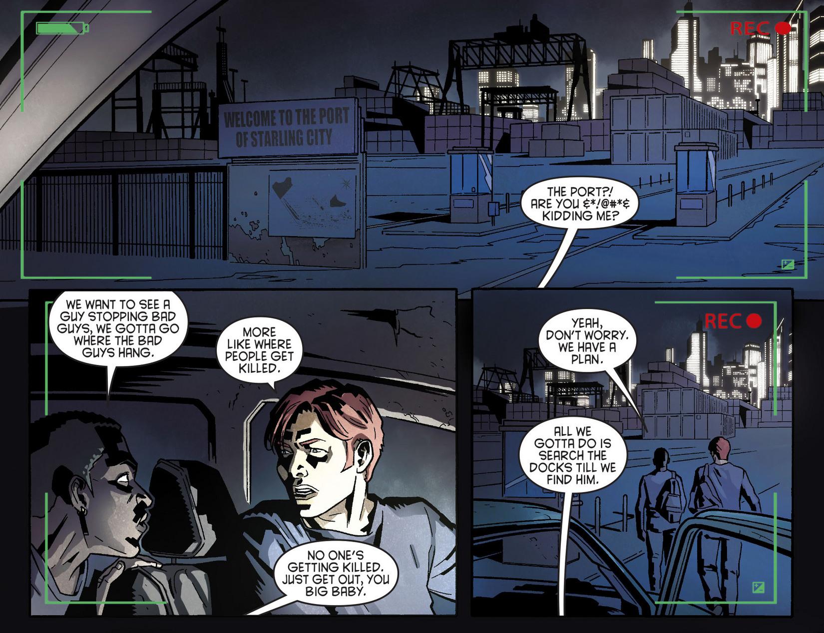 Read online Arrow [II] comic -  Issue #8 - 7