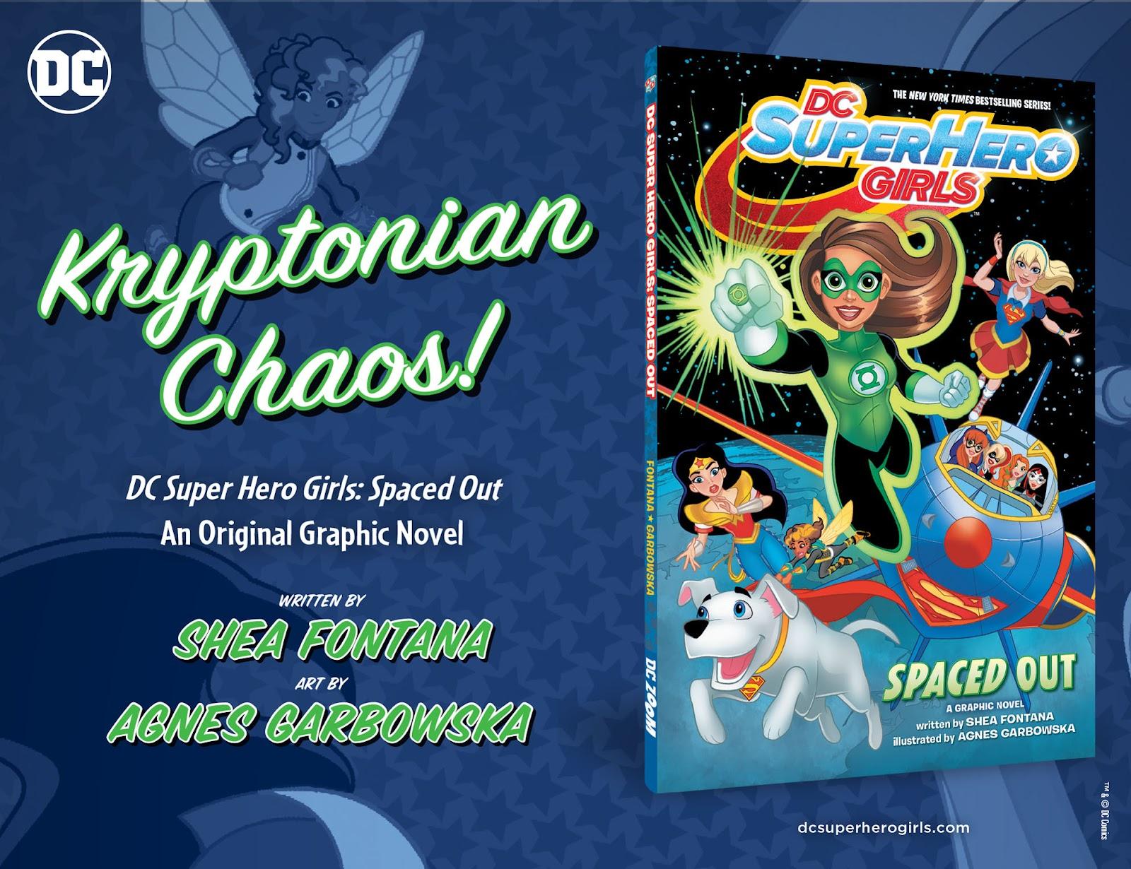 Read online DC Super Hero Girls: Weird Science comic -  Issue #14 - 24