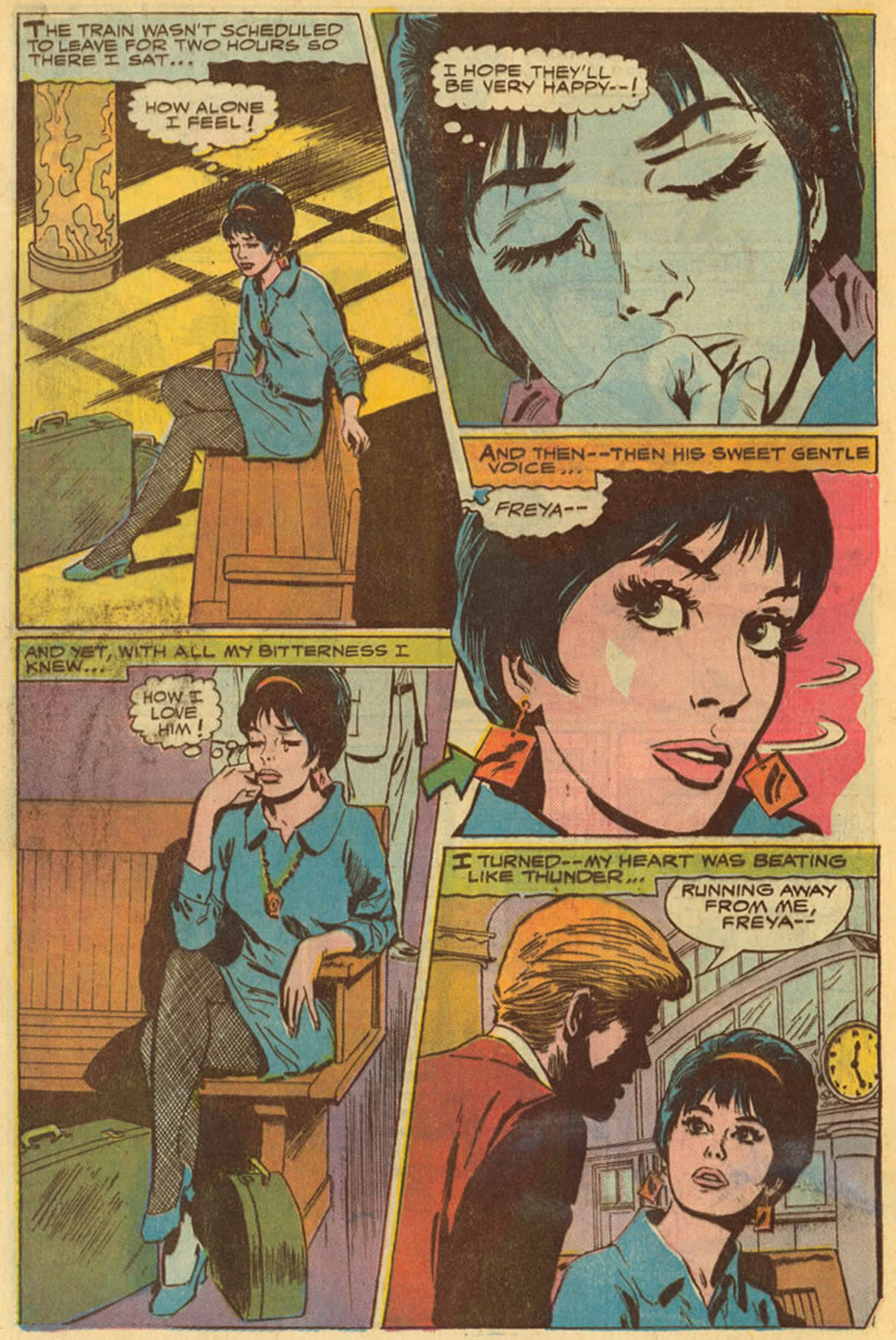 Read online Secret Hearts comic -  Issue #139 - 32