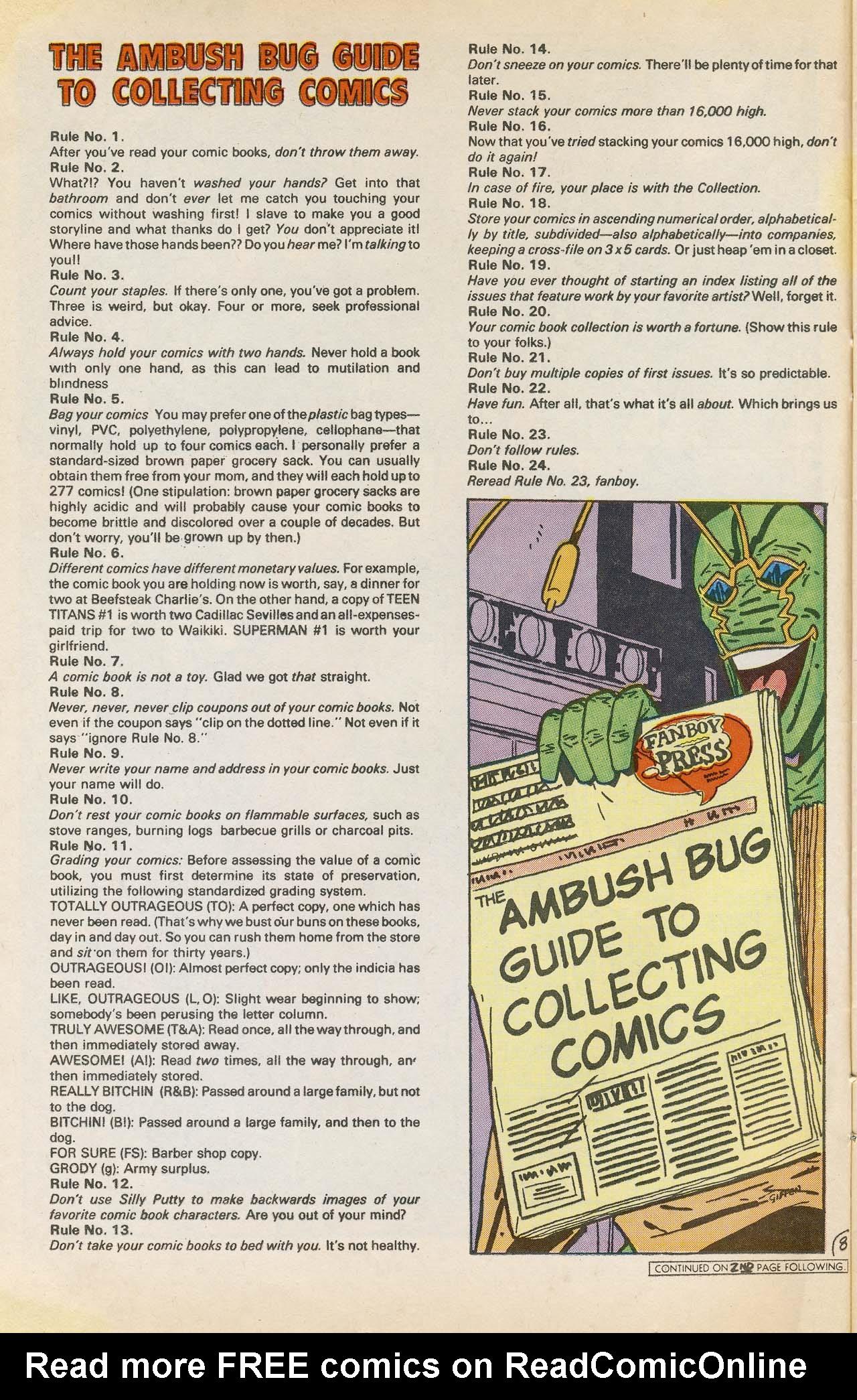Read online Ambush Bug comic -  Issue #2 - 12