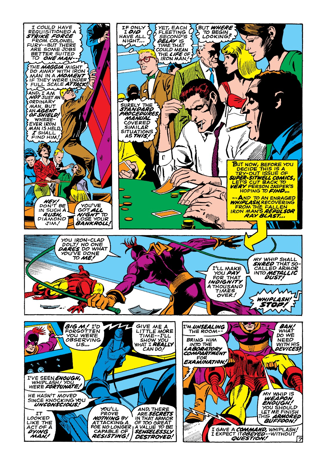Read online Marvel Masterworks: The Invincible Iron Man comic -  Issue # TPB 4 (Part 3) - 7