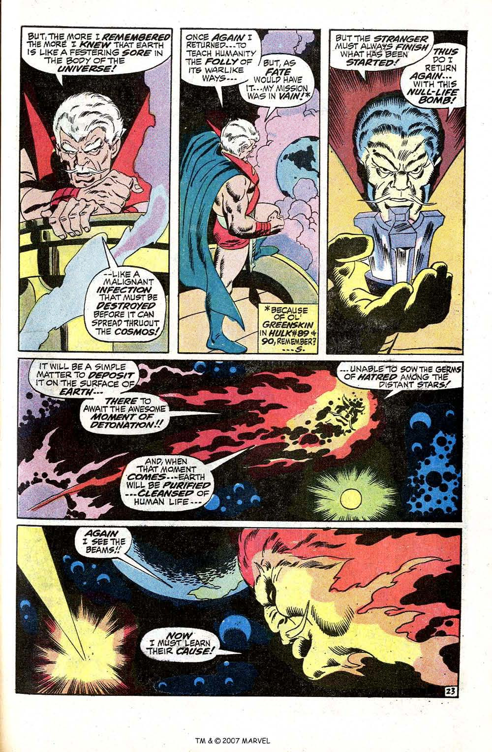 Read online Silver Surfer (1968) comic -  Issue #5 - 29