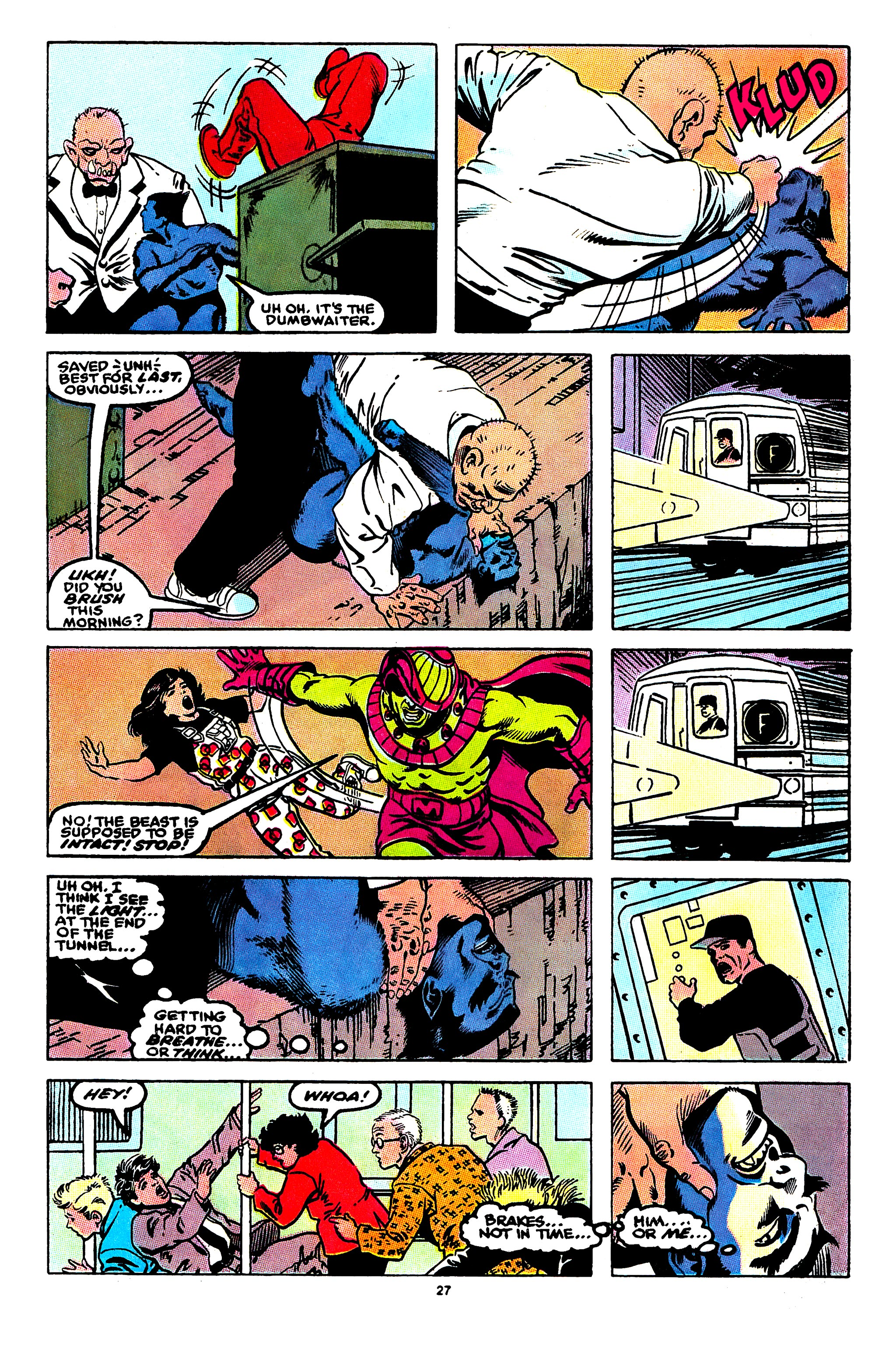 Read online X-Factor (1986) comic -  Issue #55 - 22
