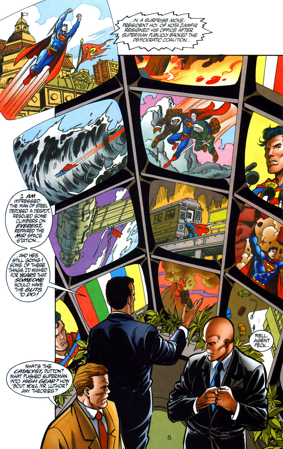 Read online Adventures of Superman (1987) comic -  Issue #565 - 6