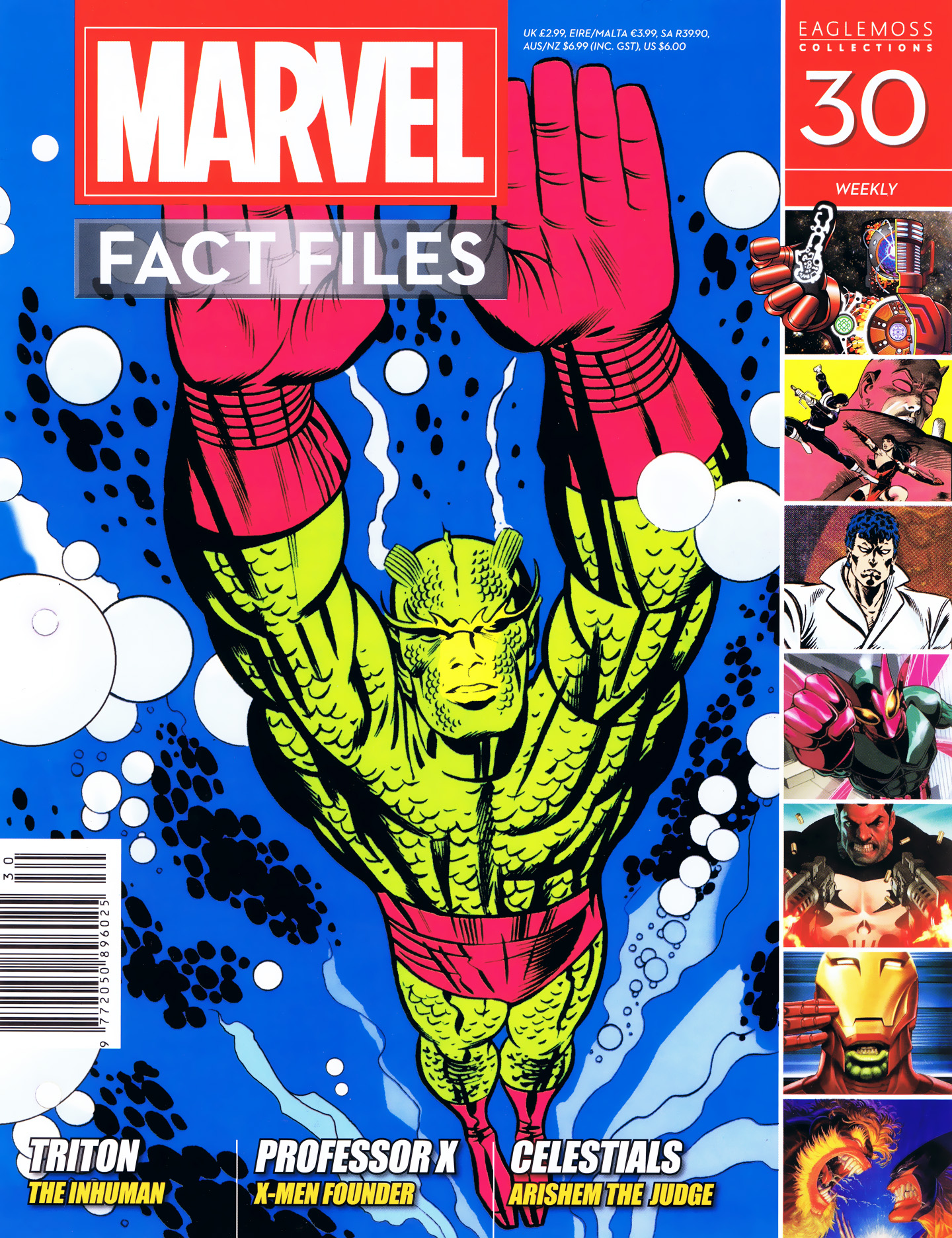Marvel Fact Files 30 Page 1