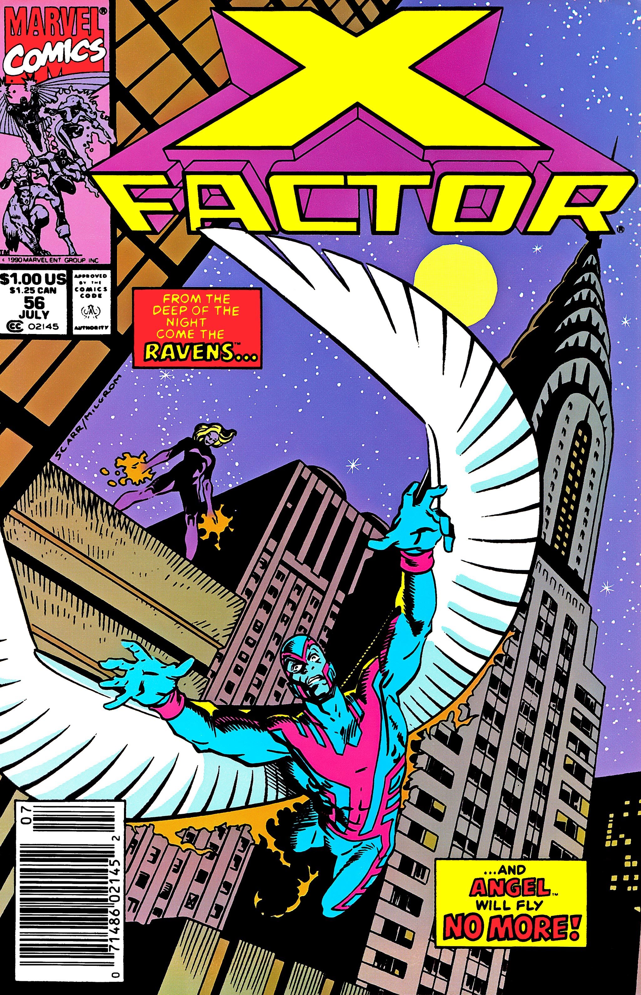 Read online X-Factor (1986) comic -  Issue #56 - 1
