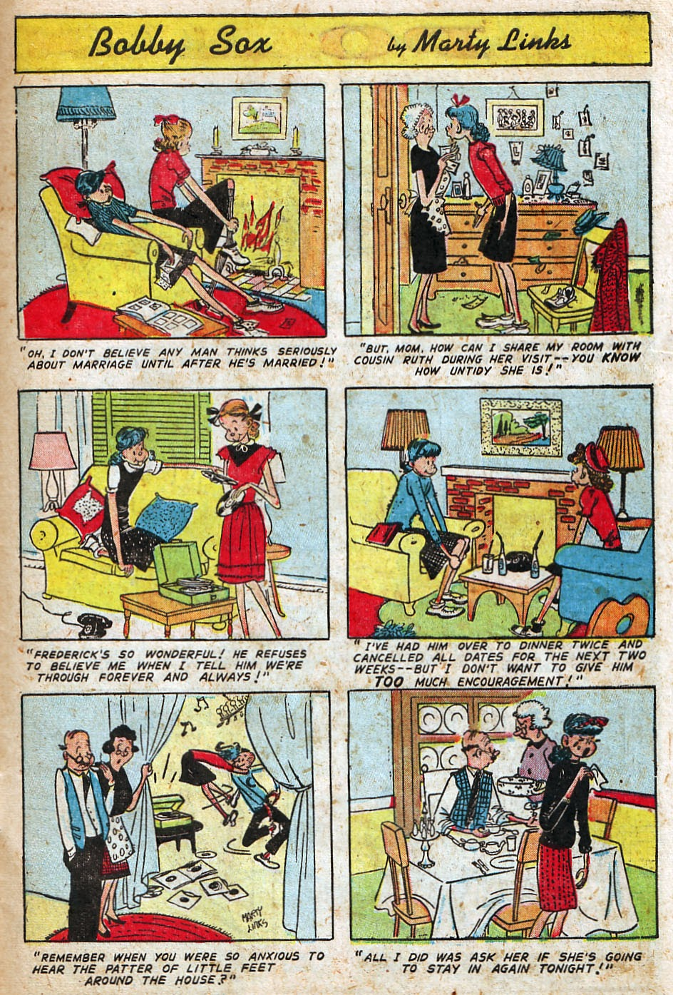 Read online Famous Funnies comic -  Issue #192 - 41