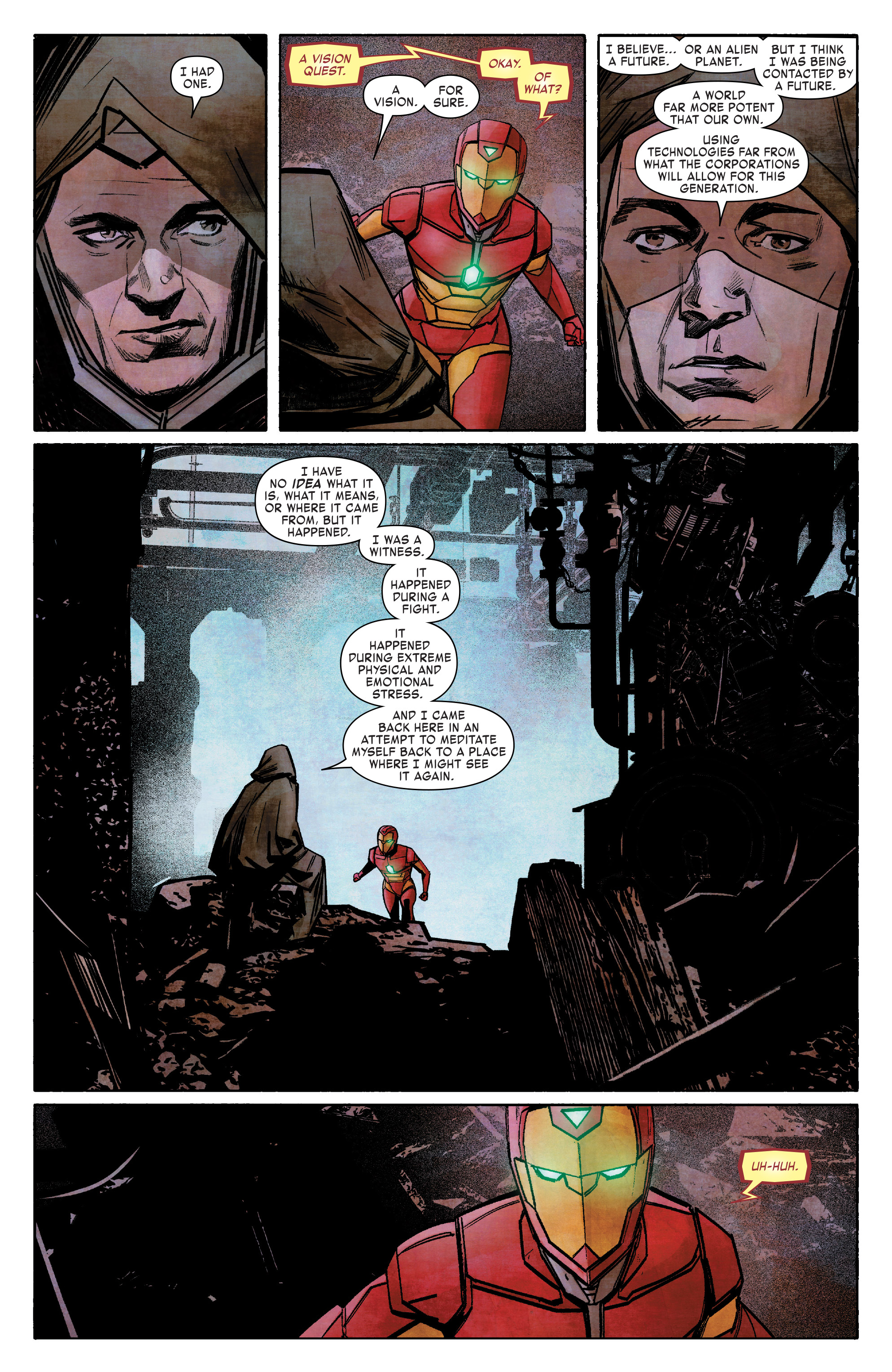 Read online Infamous Iron Man comic -  Issue #8 - 14