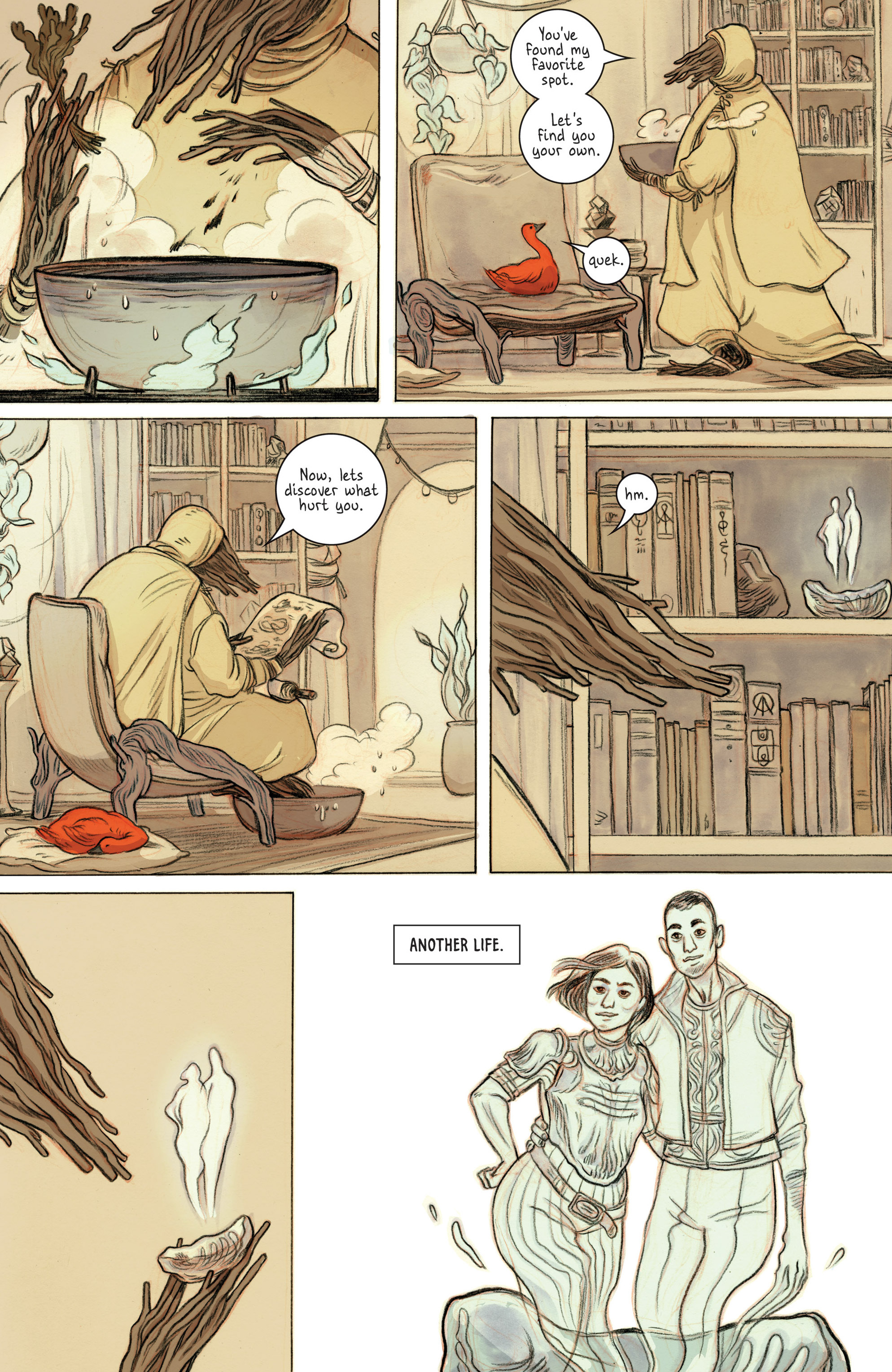 Read online 8House comic -  Issue #1 - 17