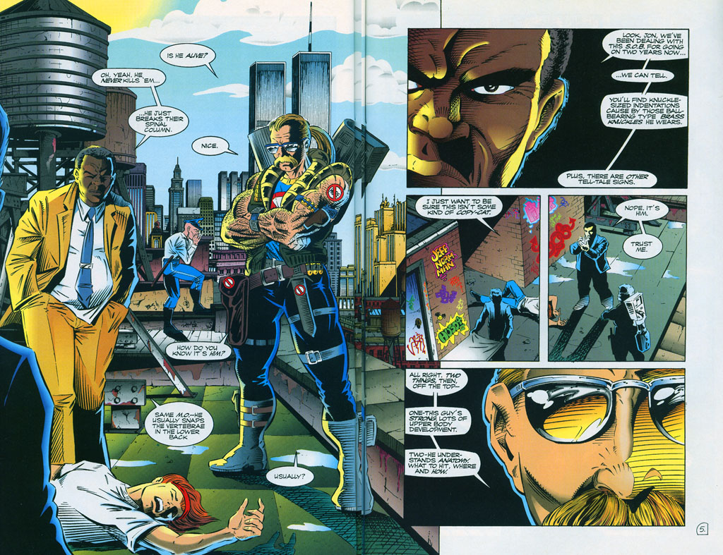 Read online ShadowHawk comic -  Issue #7 - 8
