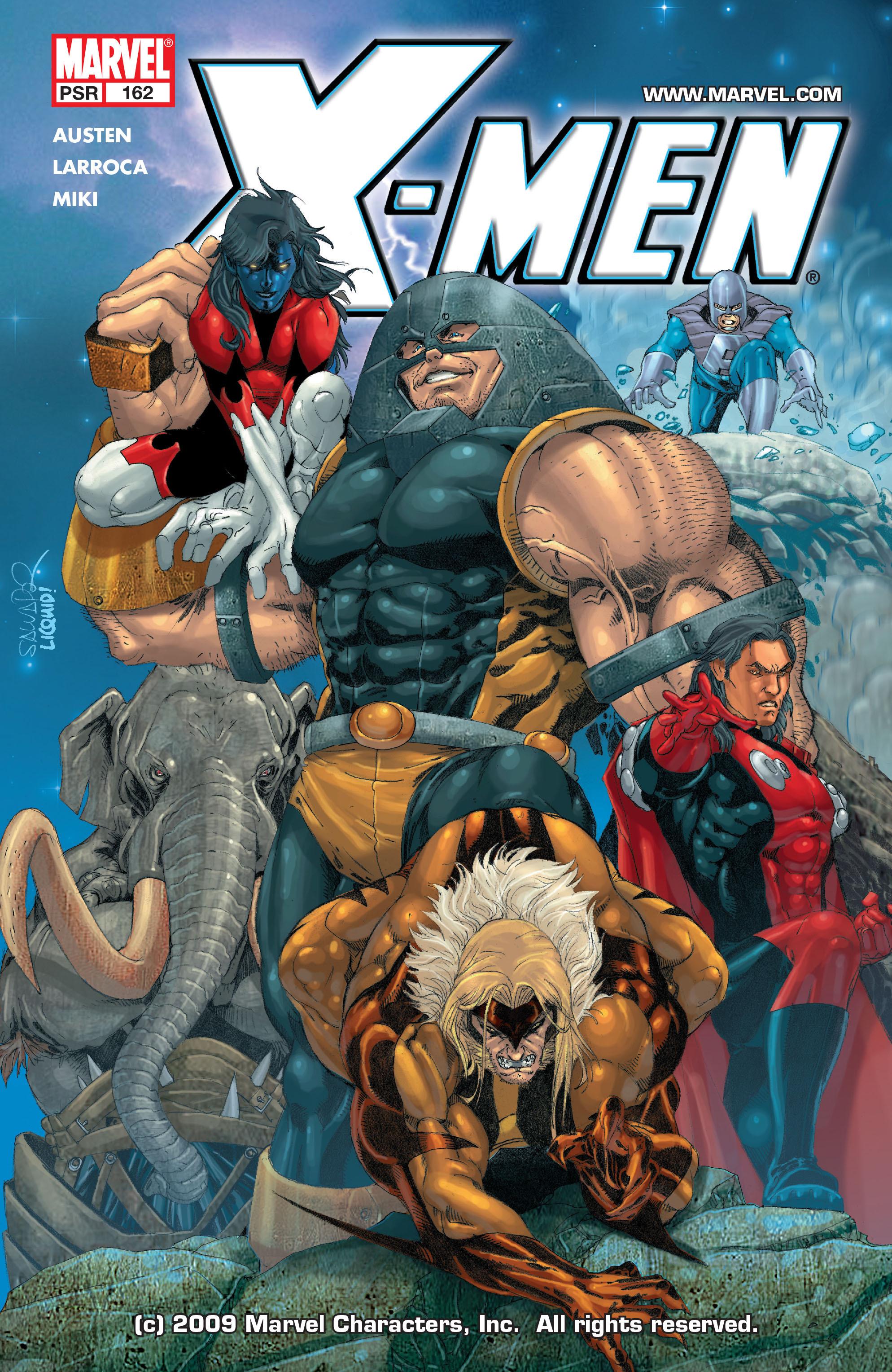 X-Men (1991) 162 Page 0