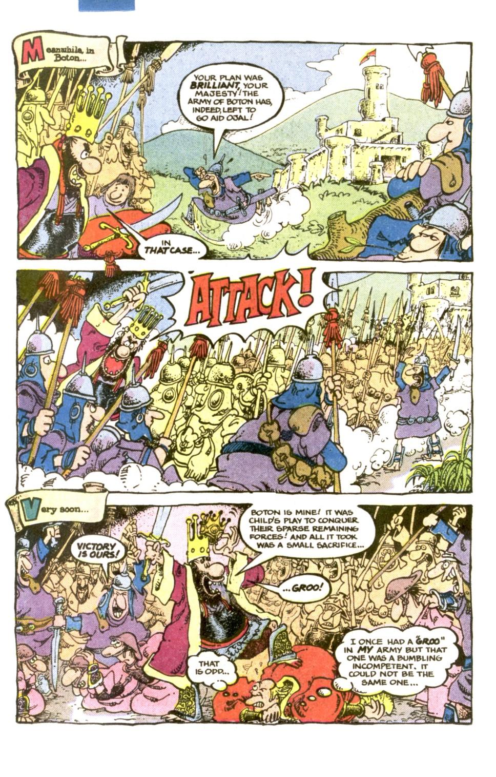 Read online Sergio Aragonés Groo the Wanderer comic -  Issue #1 - 18