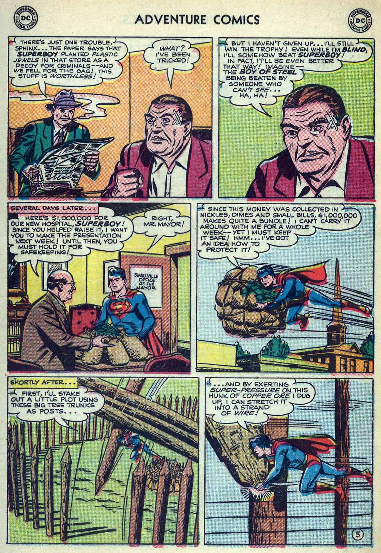 Read online Adventure Comics (1938) comic -  Issue #180 - 7